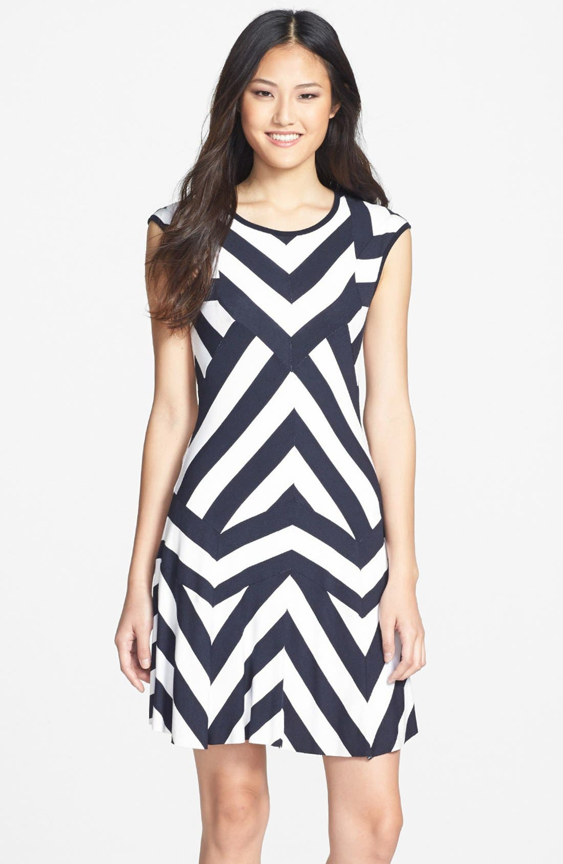 Alternate Image 1 Selected - B44 Dressed by Bailey 44 'Diamond Formation' Dress