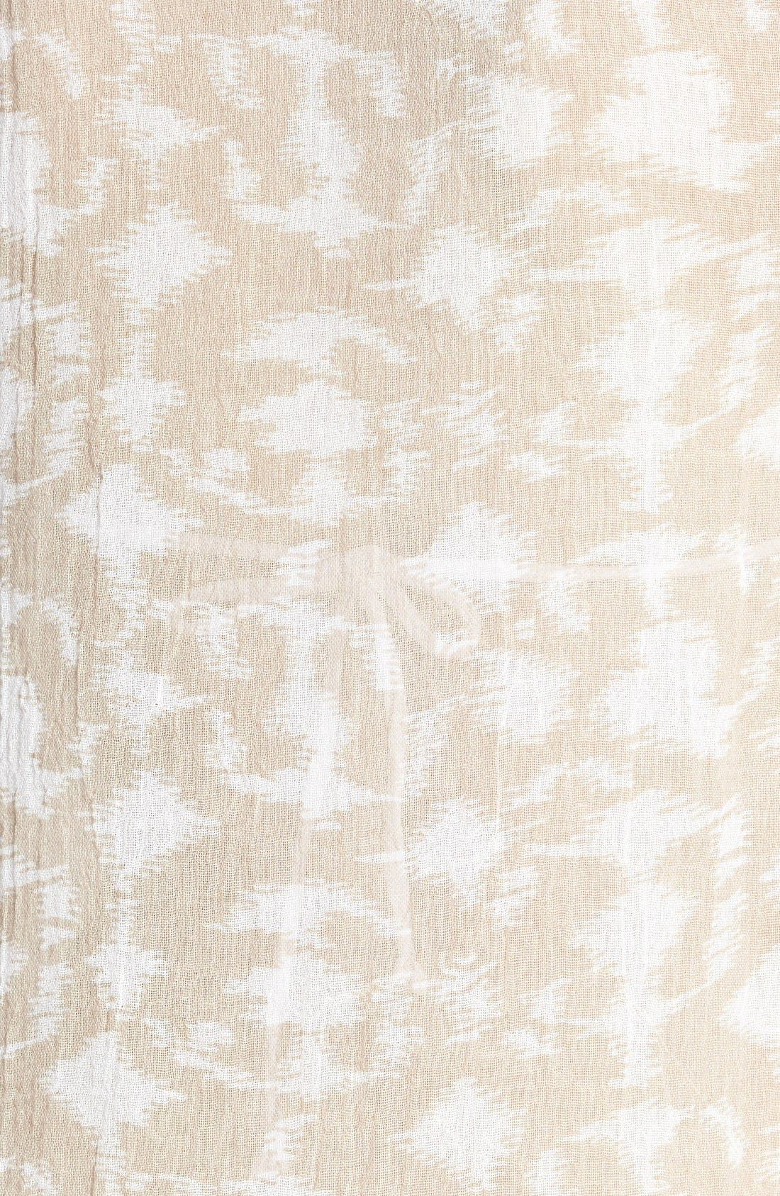 Alternate Image 3  - Eberjey 'Hidden Cove Natalya' Lace Trim Ikat Cover-Up Dress