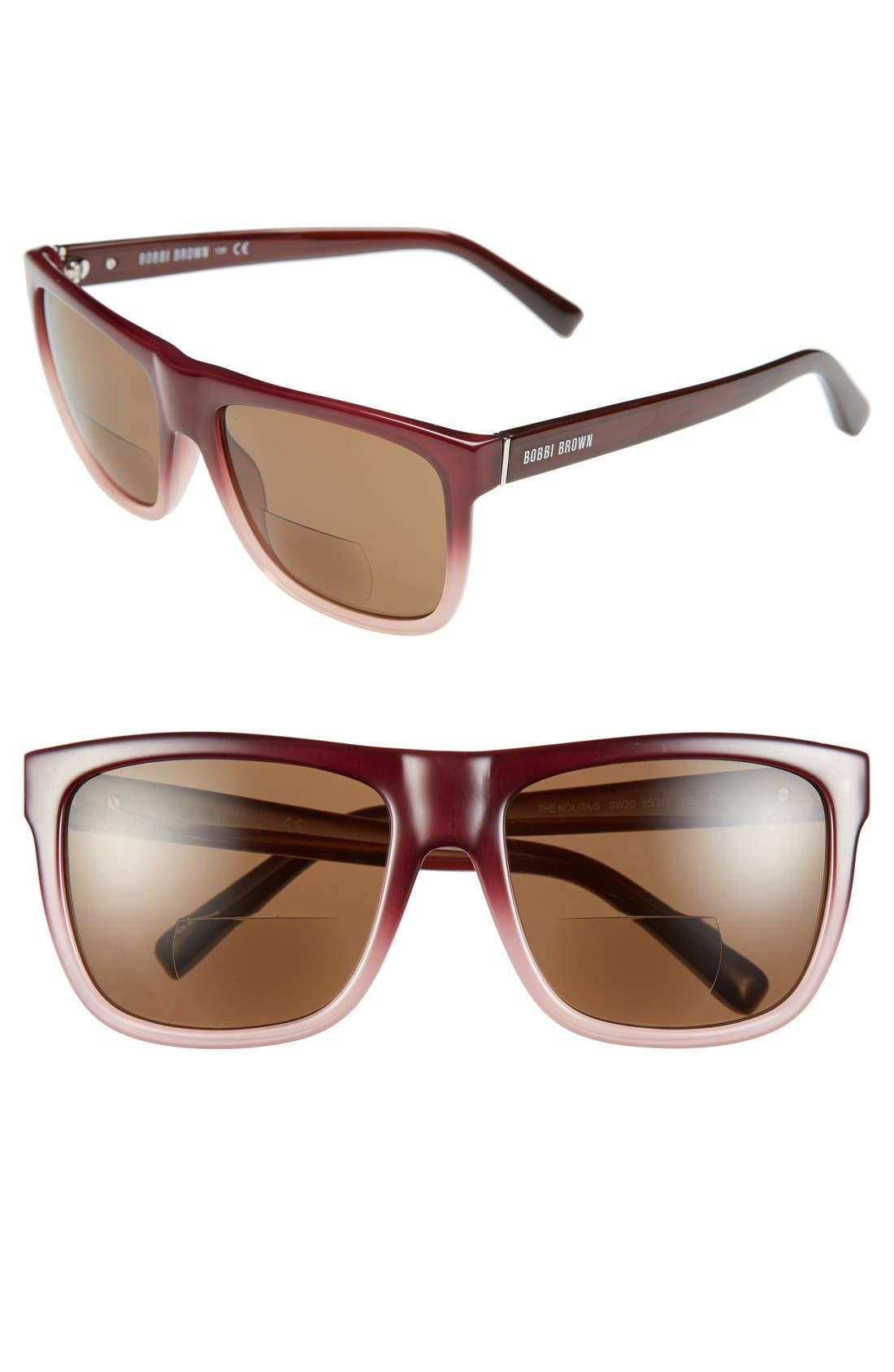 Alternate Image 1 Selected - Bobbi Brown 'The Nolita' 55mm Reading Sunglasses (2 for $88)