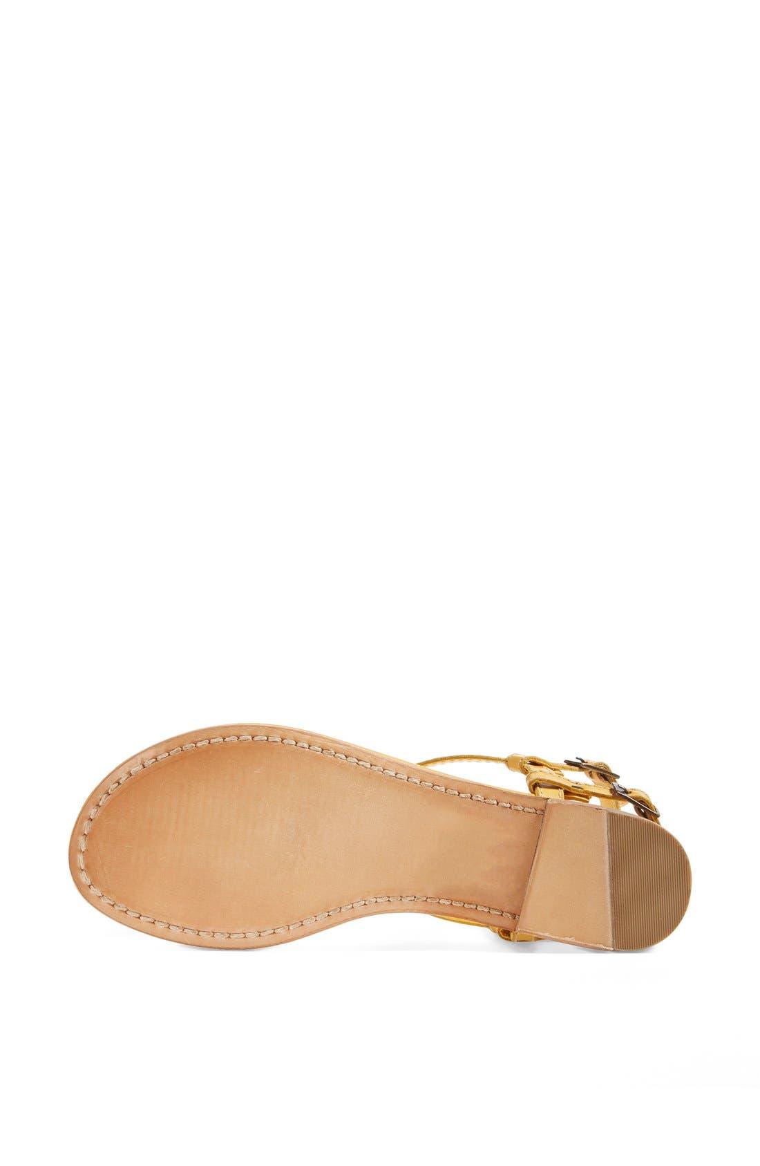Alternate Image 4  - Hinge 'Sunshine' Flat Sandal