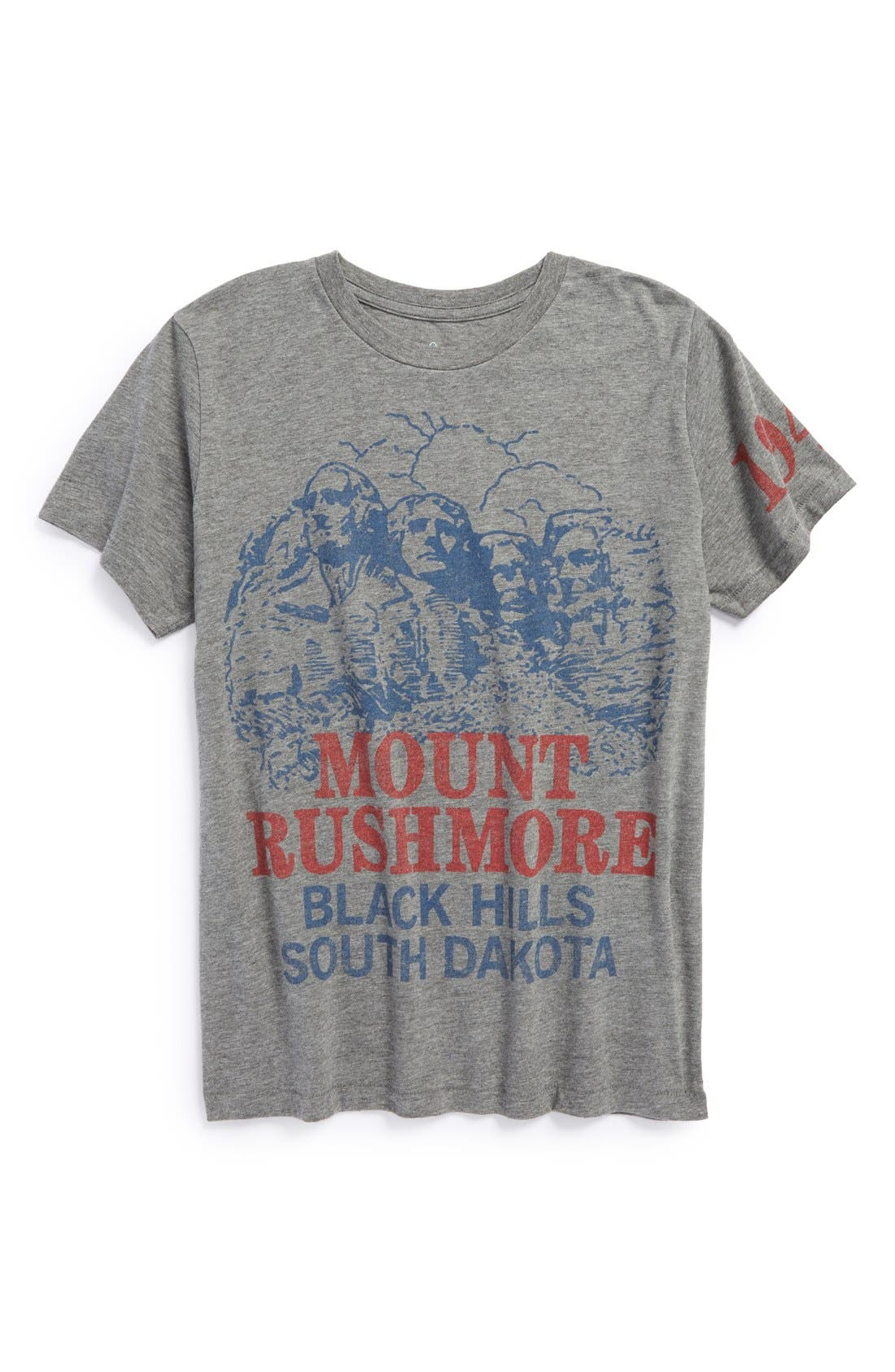 Alternate Image 1 Selected - Peek 'Mt. Rushmore' Short Sleeve T-Shirt (Baby Boys)