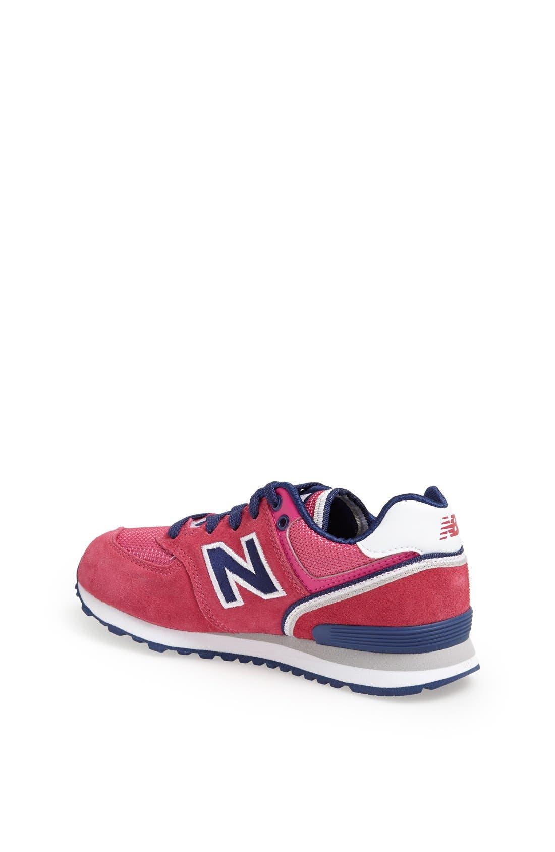 Alternate Image 2  - New Balance '574 - SJ' Sneaker (Toddler, Little Kid & Big Kid)