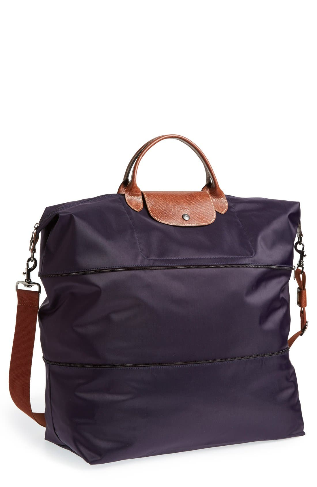 Main Image - Longchamp Le Pliage 21-Inch Expandable Travel Bag