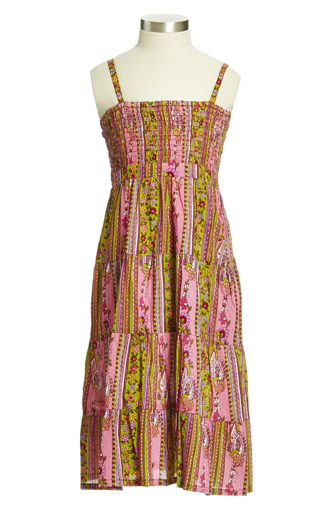 Main Image - Peek 'Talise' Long Sundress (Toddler Girls, Little Girls & Big Girls)