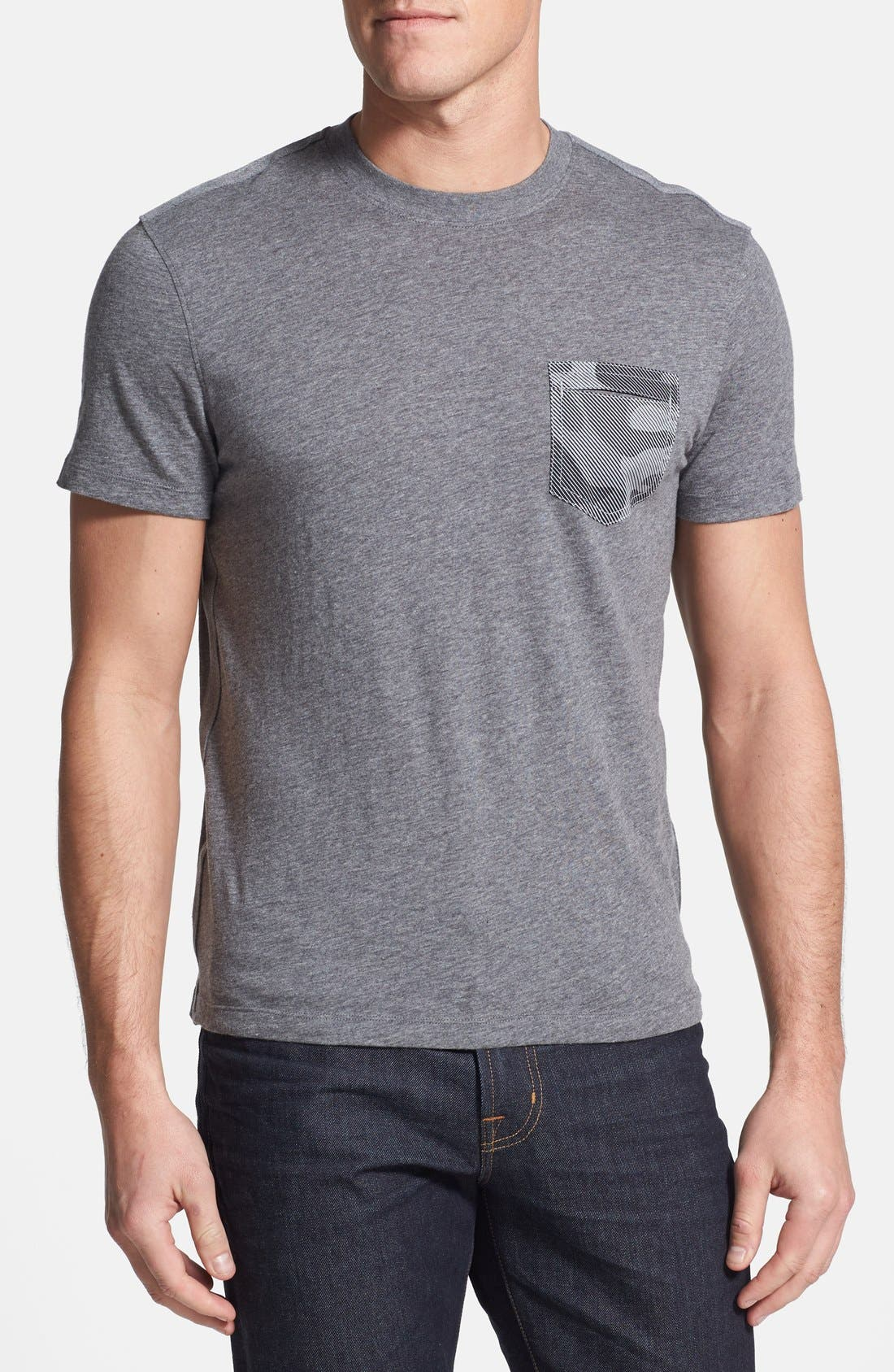 Alternate Image 1 Selected - Michael Kors Camo Pocket Slub T-Shirt