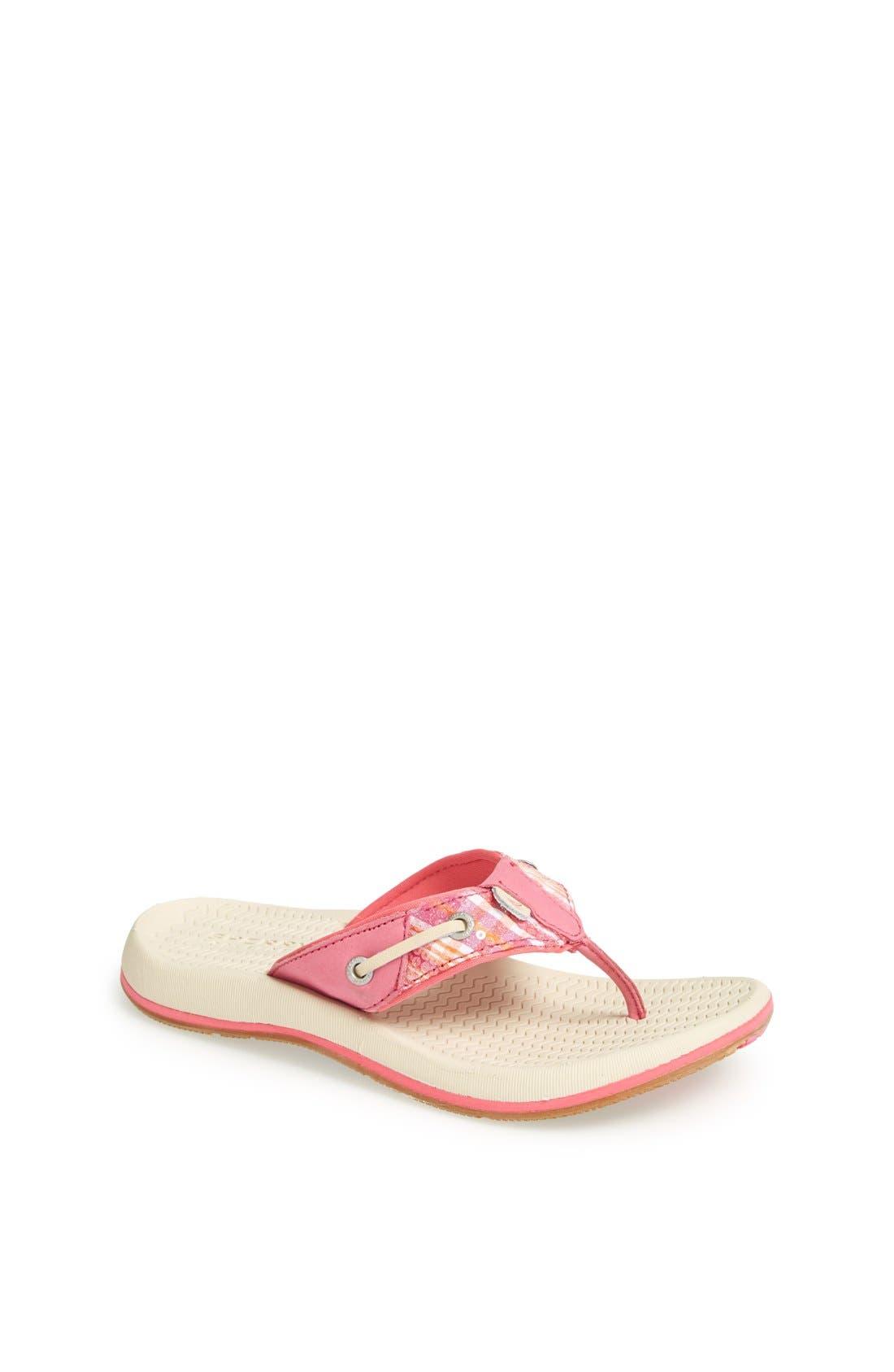 Alternate Image 1 Selected - Sperry Top-Sider® Kids 'Seafish' Sandal (Toddler, Little Kid & Big Kid)