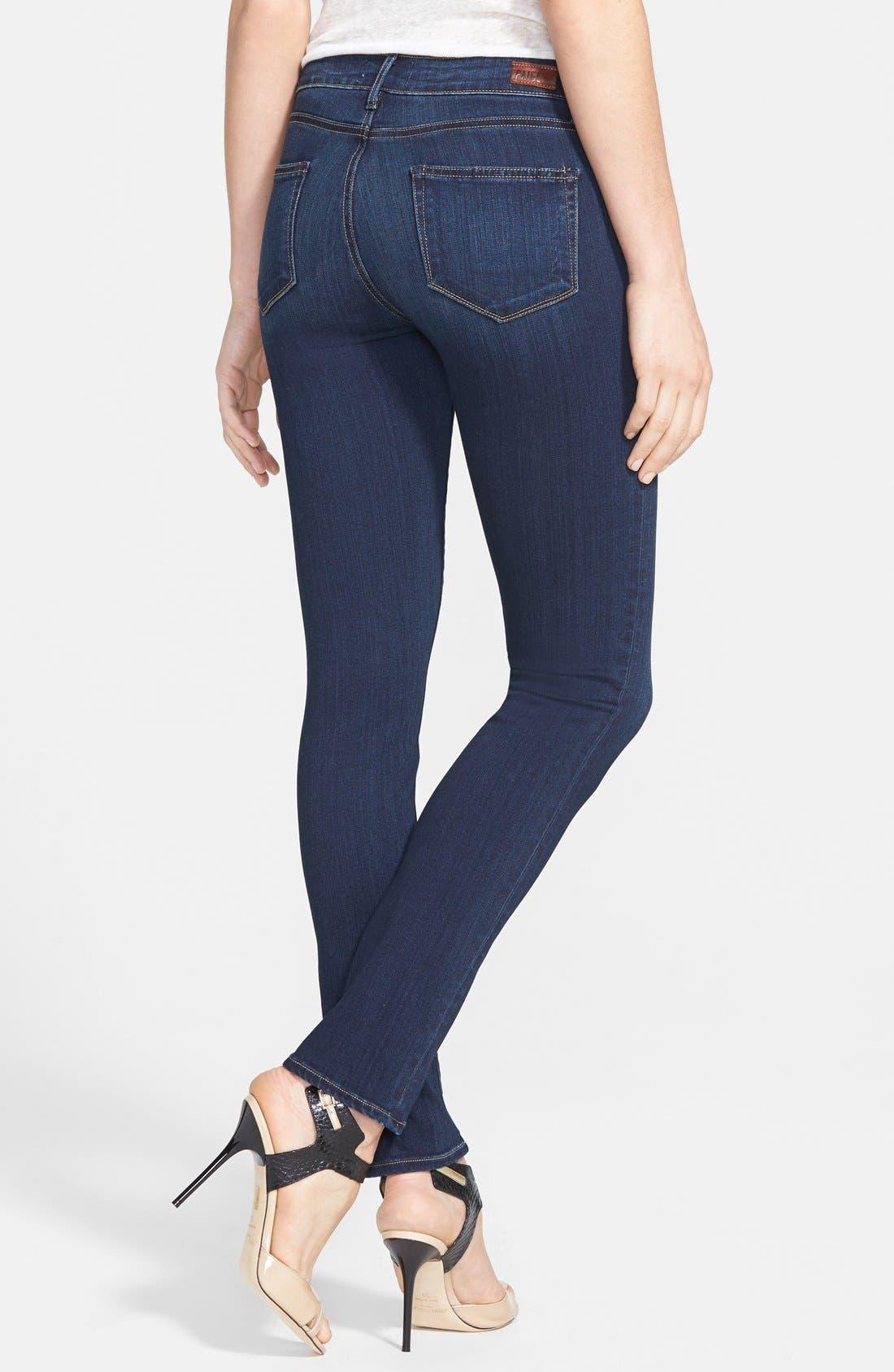 Denim 'Skyline' Skinny Jeans,                             Alternate thumbnail 2, color,                             Nottingham