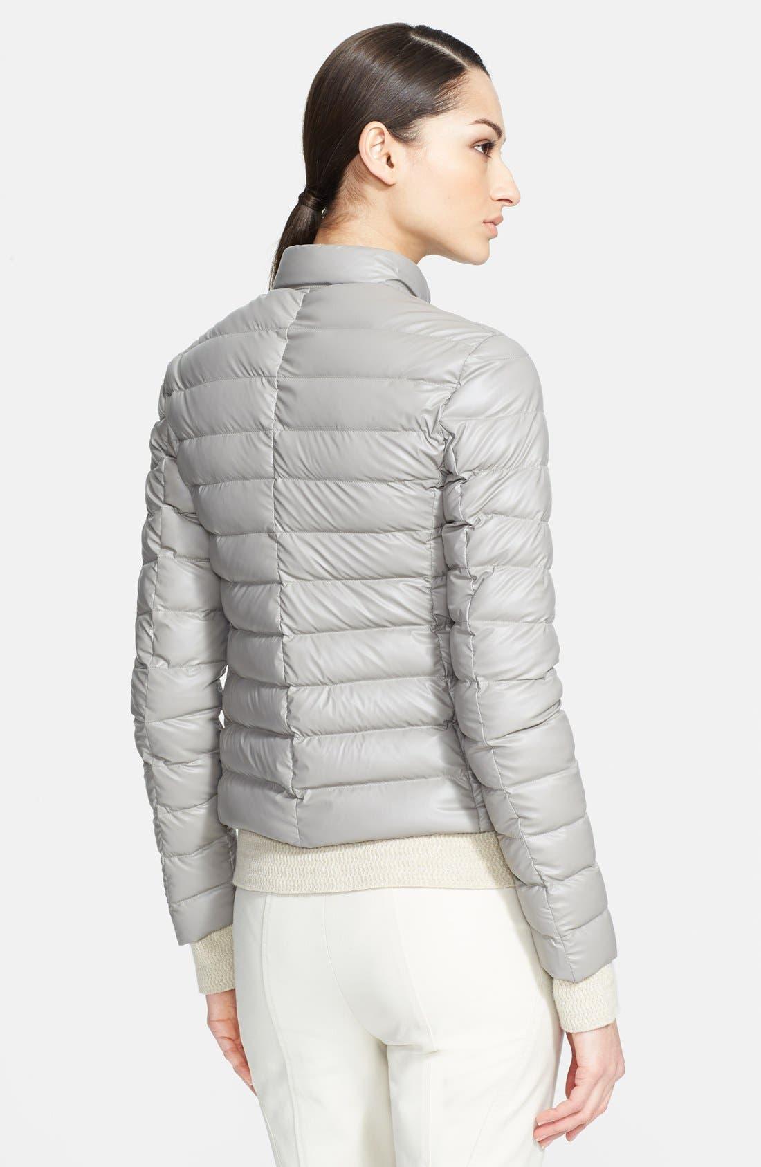 Alternate Image 2  - Armani Collezioni Quilted Down Puffer Coat