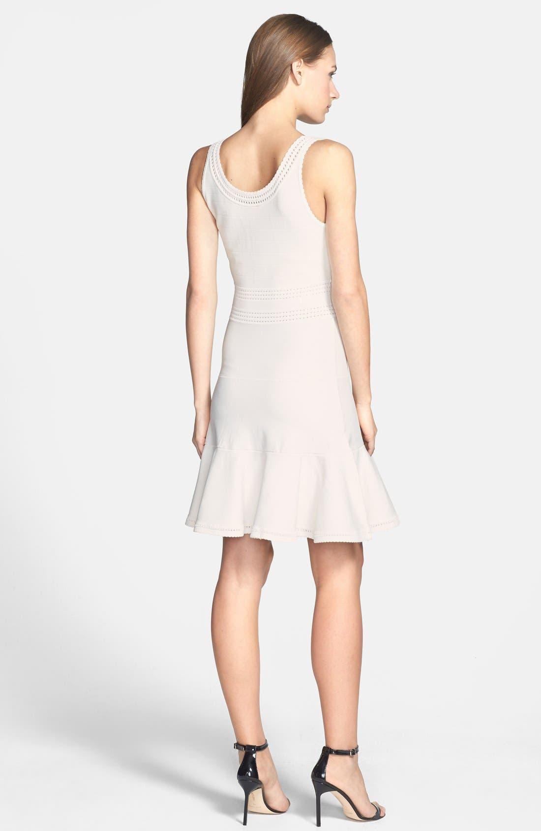 Alternate Image 2  - Diane von Furstenberg 'Perry' Flared Knit Dress