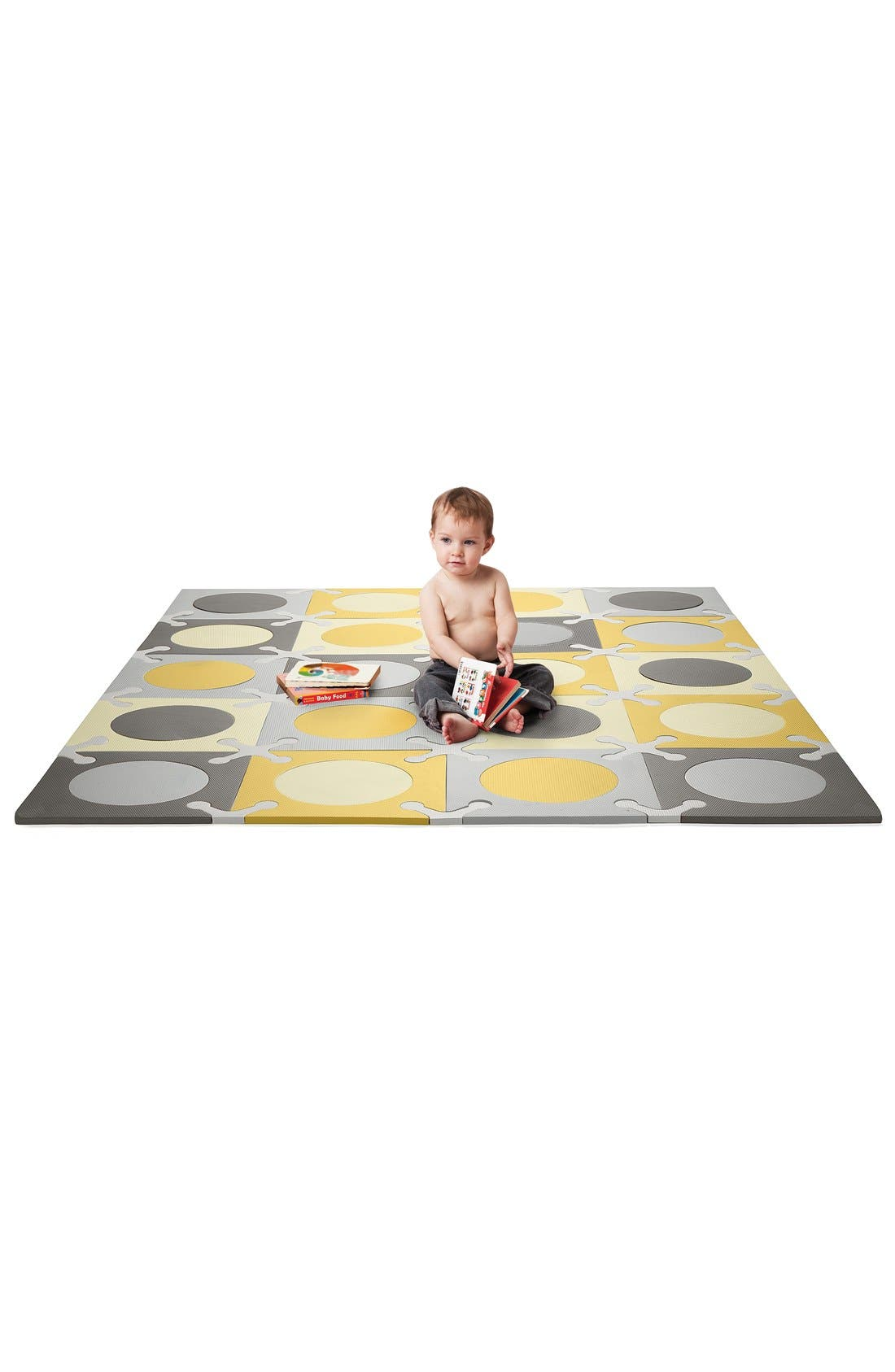 'Playspot' Floor Tiles,                             Alternate thumbnail 2, color,                             Gray/ Gold