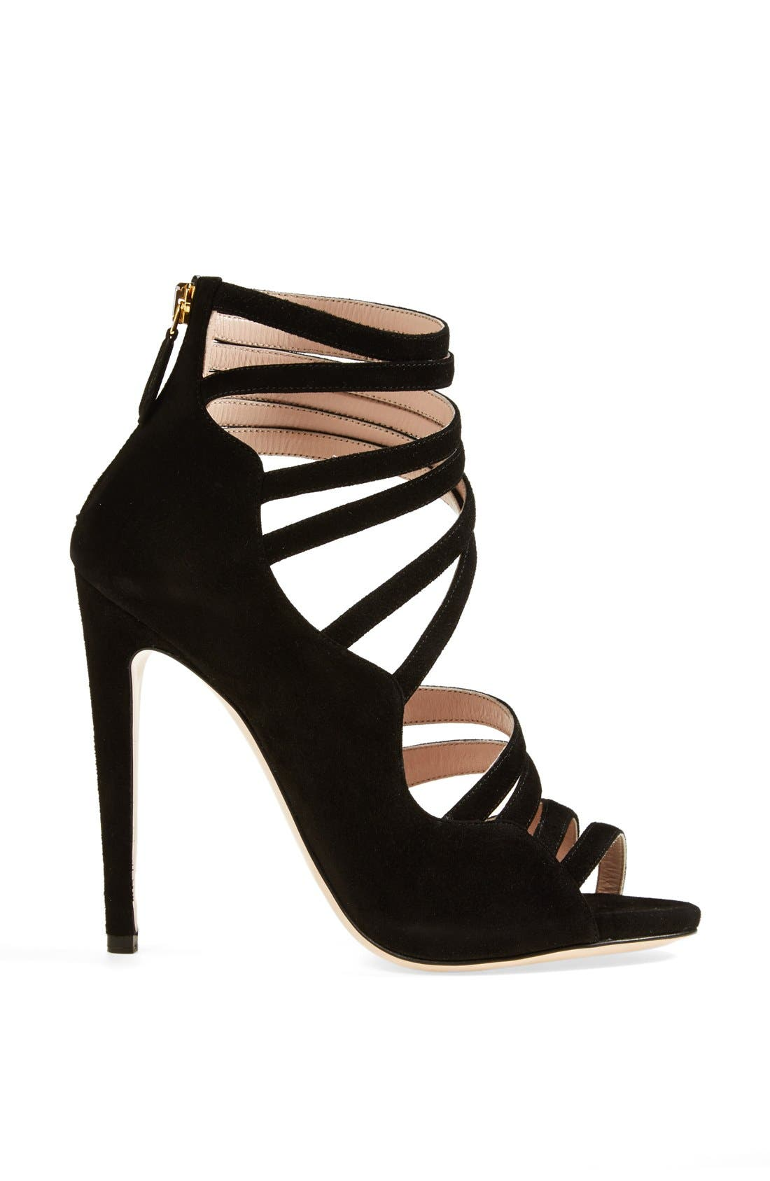 Alternate Image 4  - Miu Miu Asymmetrical Strappy Sandal