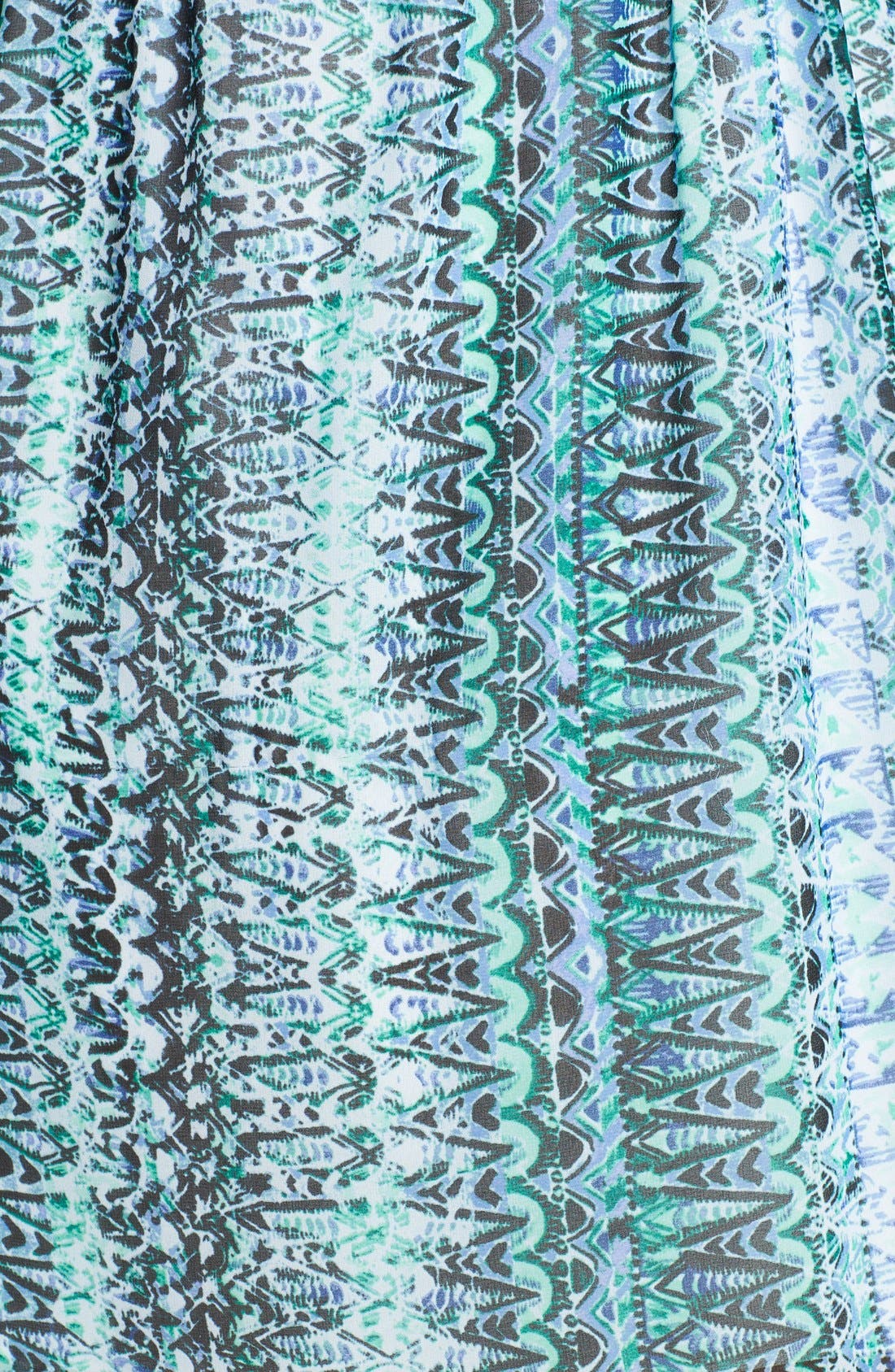 Alternate Image 3  - Two by Vince Camuto 'Folk Geo' Split Neck Dress (Plus Size)
