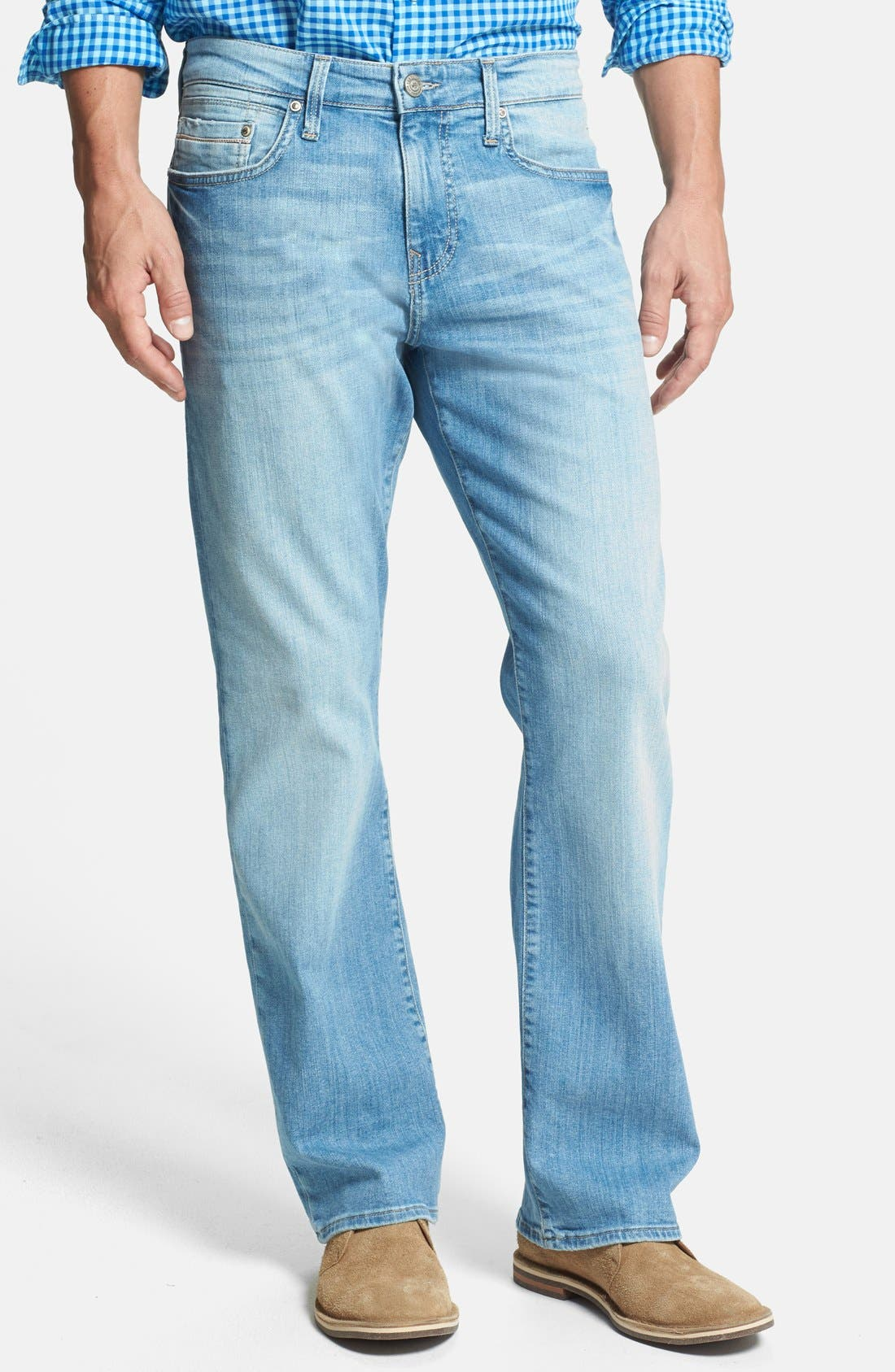 Alternate Image 1 Selected - Mavi Jeans 'Matt' Relaxed Fit Jeans (Light Yaletown)