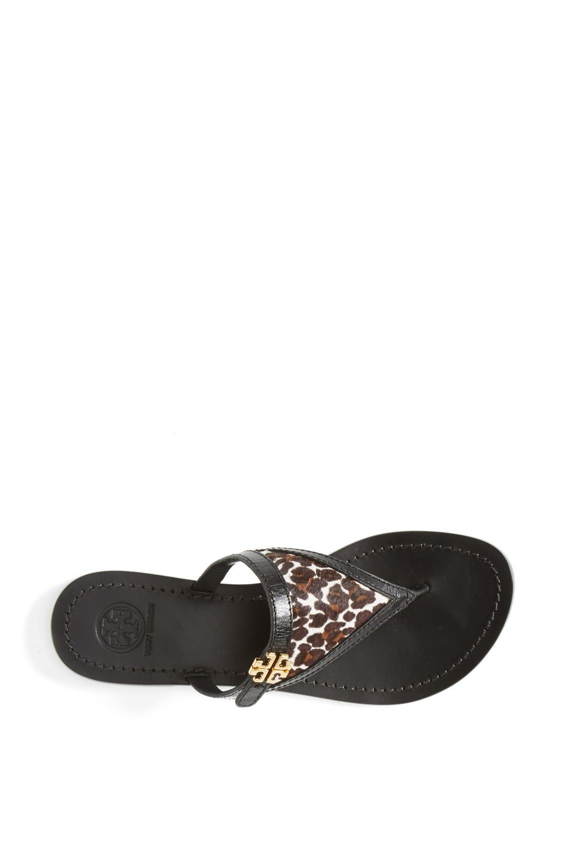 Alternate Image 4  - Tory Burch 'Eloise' Flat Thong Sandal (Nordstrom Exclusive) (Women)