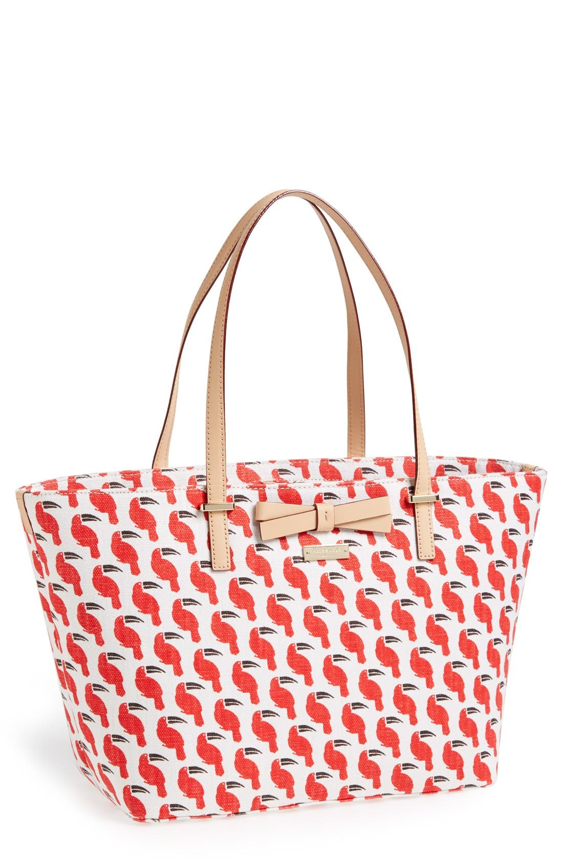 Alternate Image 1 Selected - kate spade new york 'south poplar street - francis' fabric tote