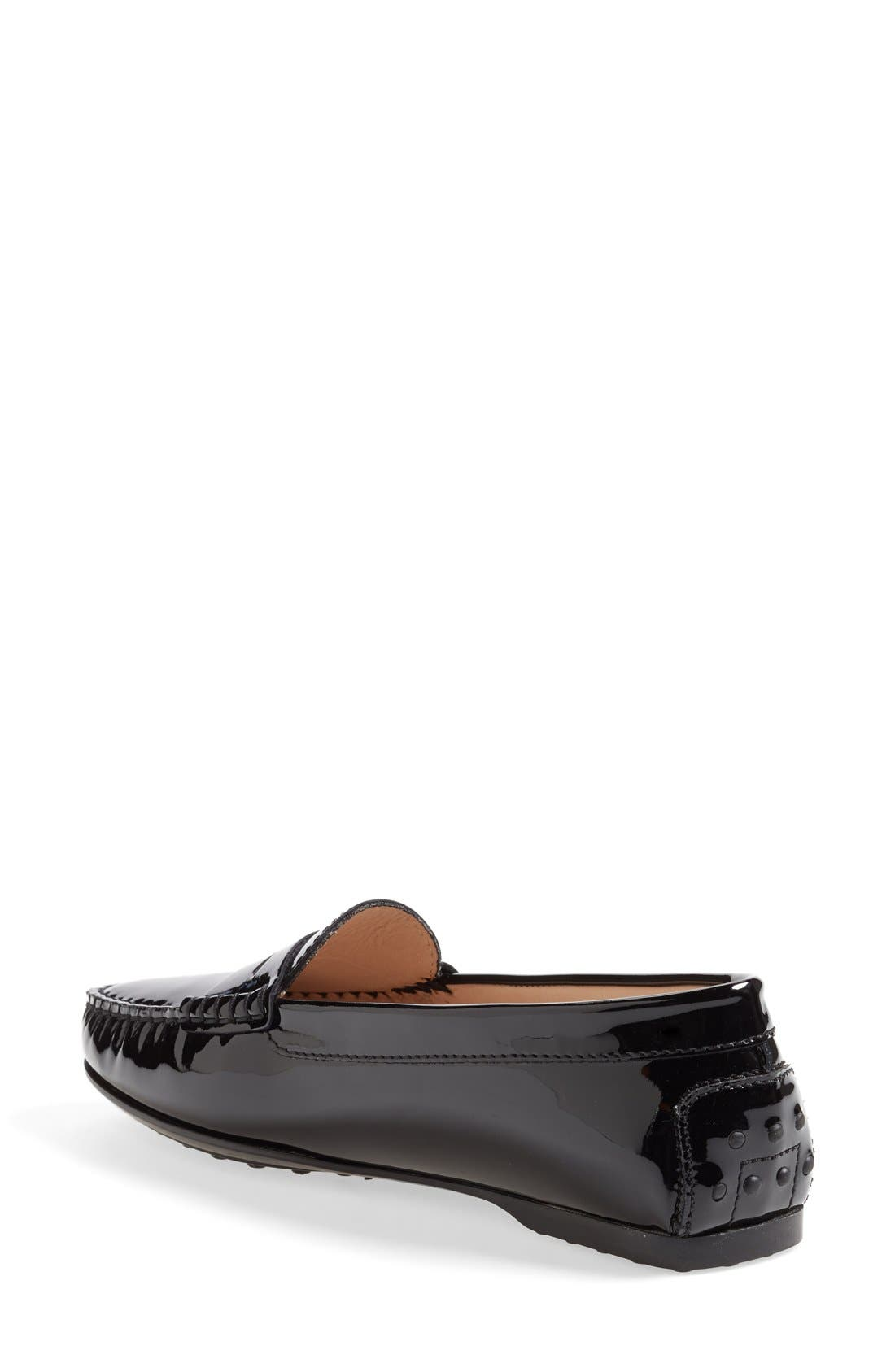 Alternate Image 2  - Tod's Patent Leather Penny Loafer (Women)