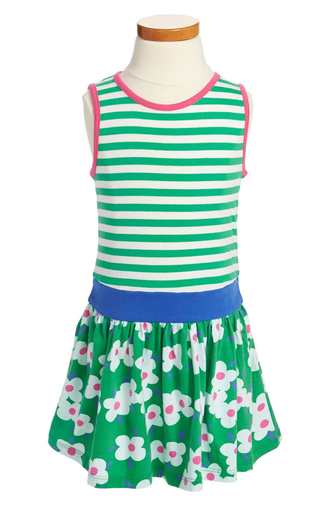 Alternate Image 1 Selected - Mini Boden 'Jolly' Cotton Jersey Dress (Little Girls & Big Girls)