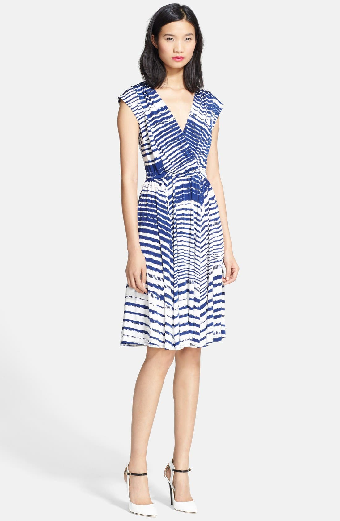 Alternate Image 1 Selected - Tracy Reese Shirred Jersey Dress