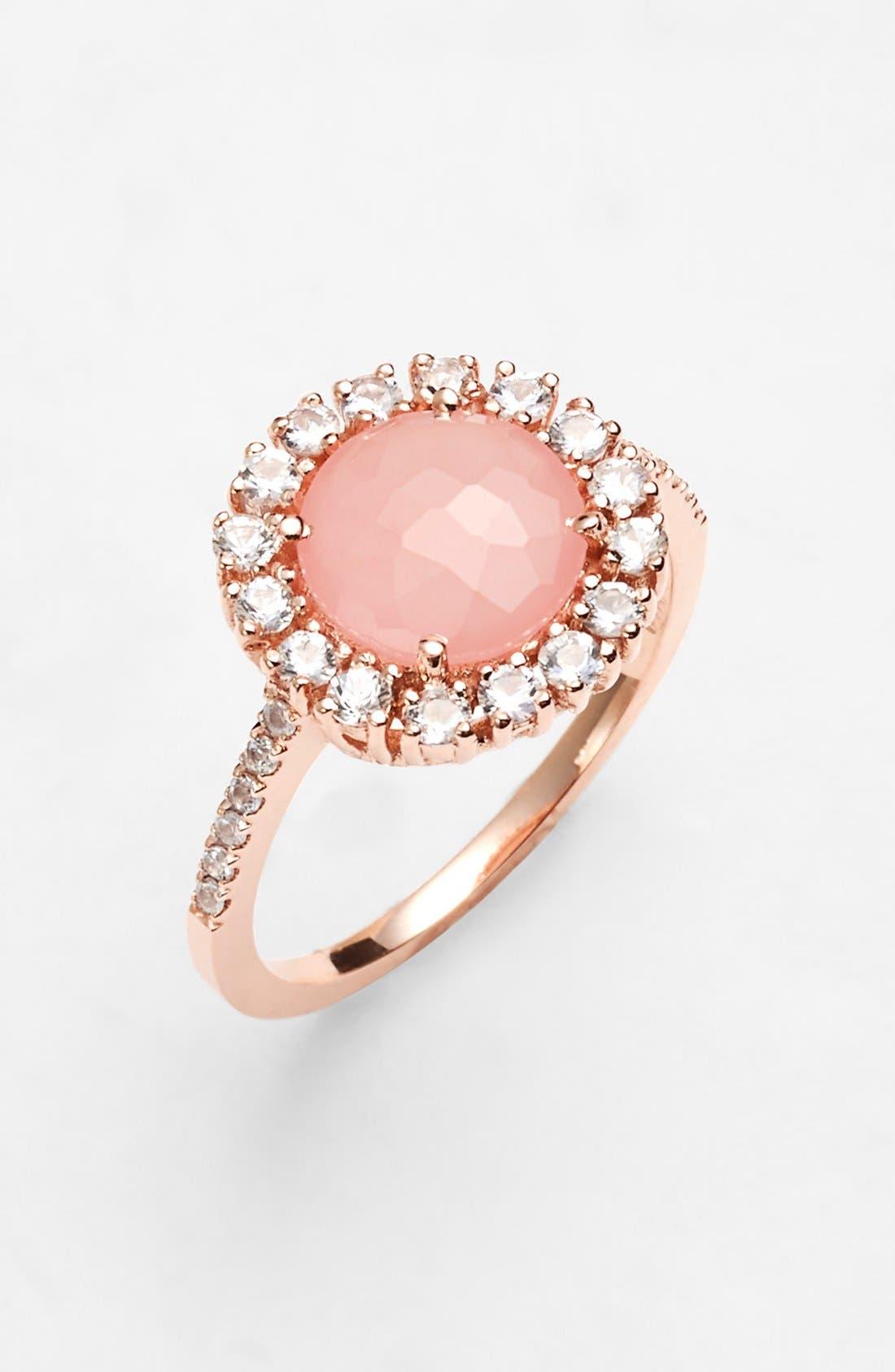 Alternate Image 1 Selected - KALAN by Suzanne Kalan Round Sapphire Bezel Ring