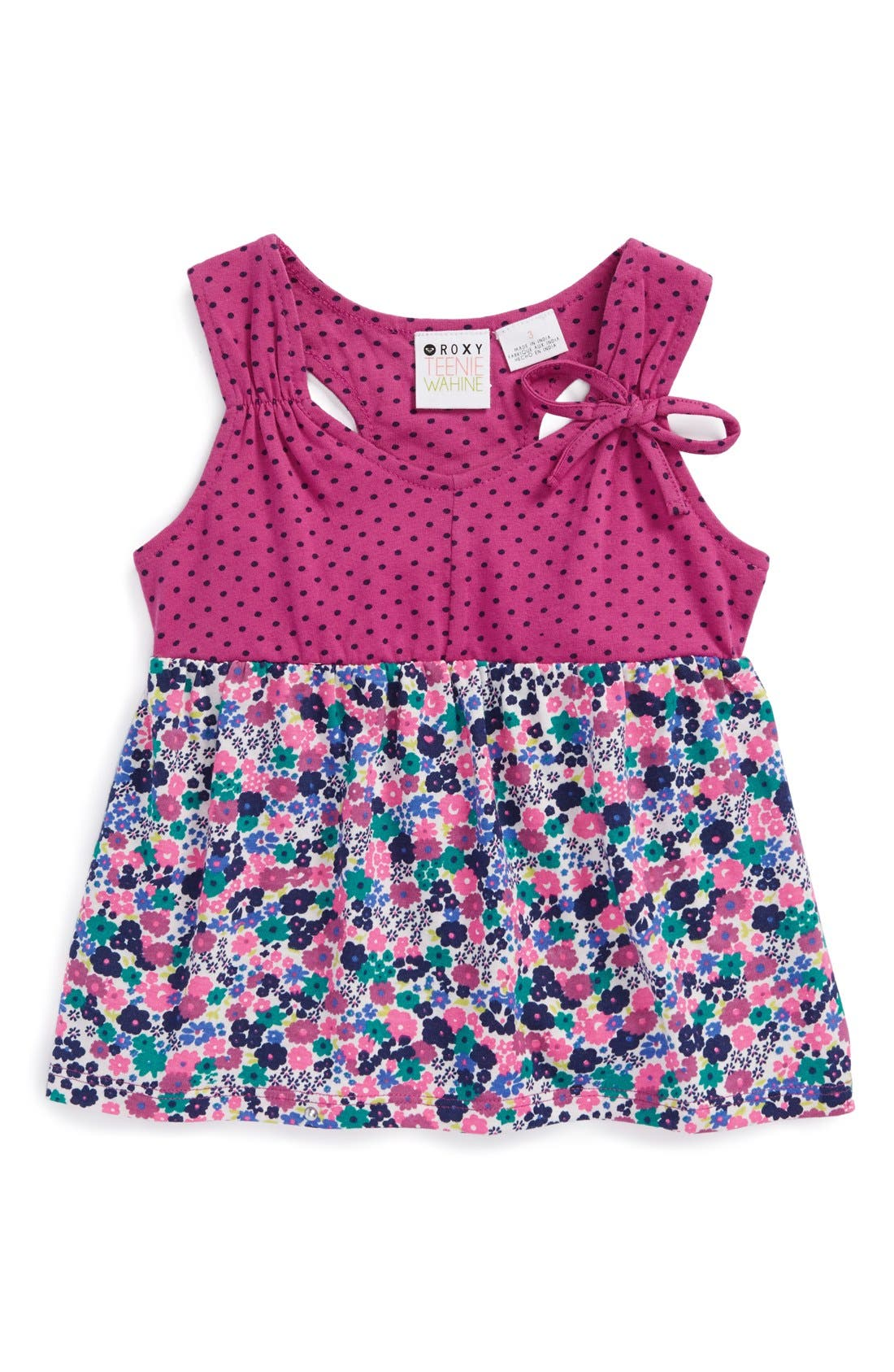 Alternate Image 1 Selected - Roxy 'Turn Around' Sleeveless Top (Toddler Girls)