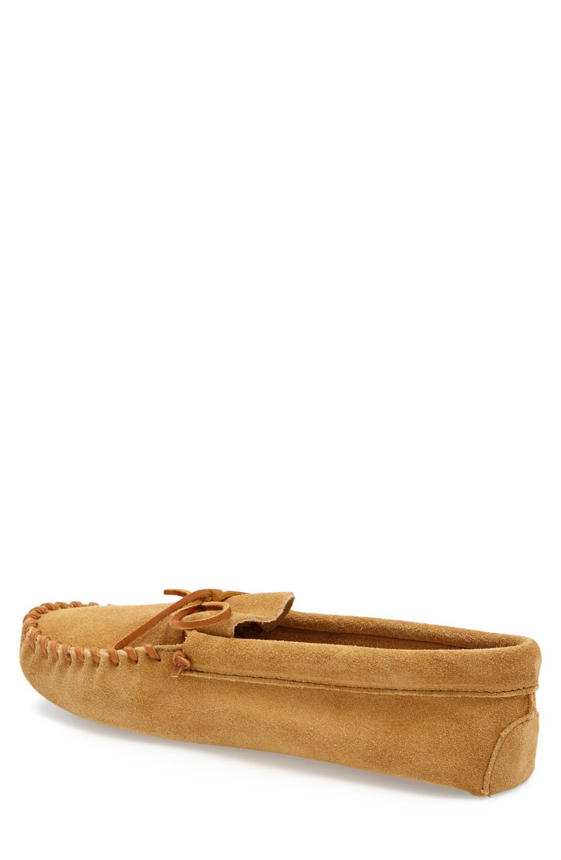 Alternate Image 2  - Minnetonka Suede Moccasin