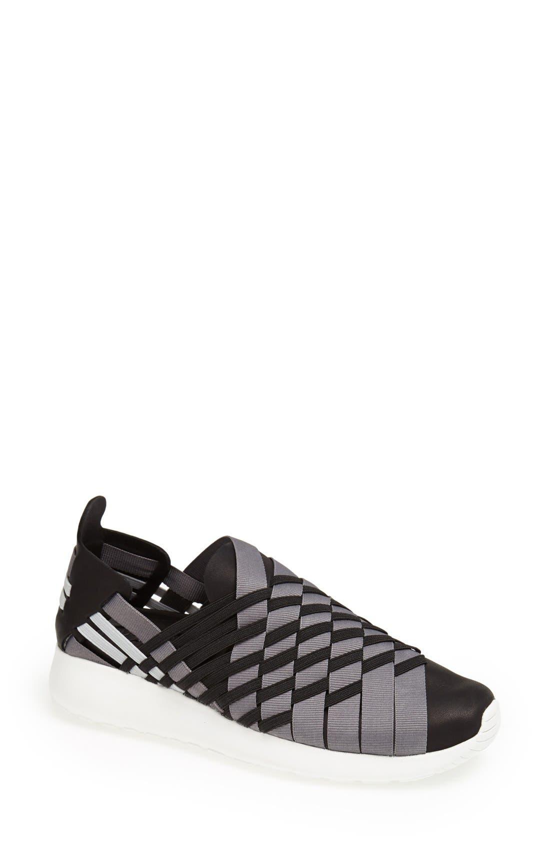 Alternate Image 1 Selected - Nike 'Roshe Run Woven 2.0' Sneaker (Women)