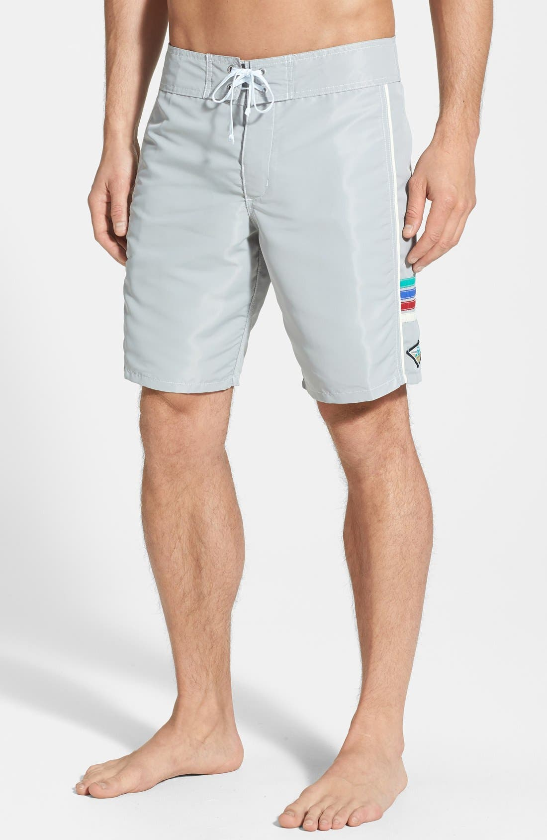 Alternate Image 1 Selected - Hobie by Hurley 'Solid State' Board Shorts