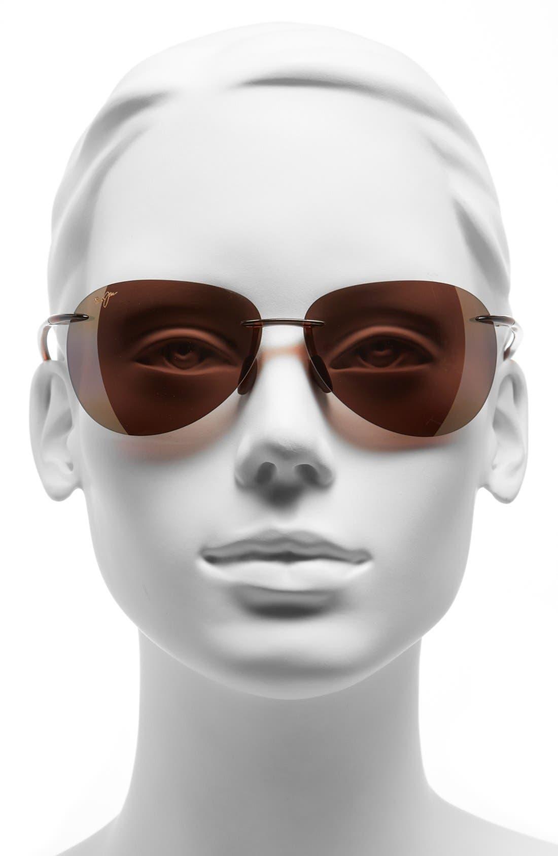 Alternate Image 2  - Maui Jim Sugar Beach 62mm PolarizedPlus2® Rimless Sunglasses