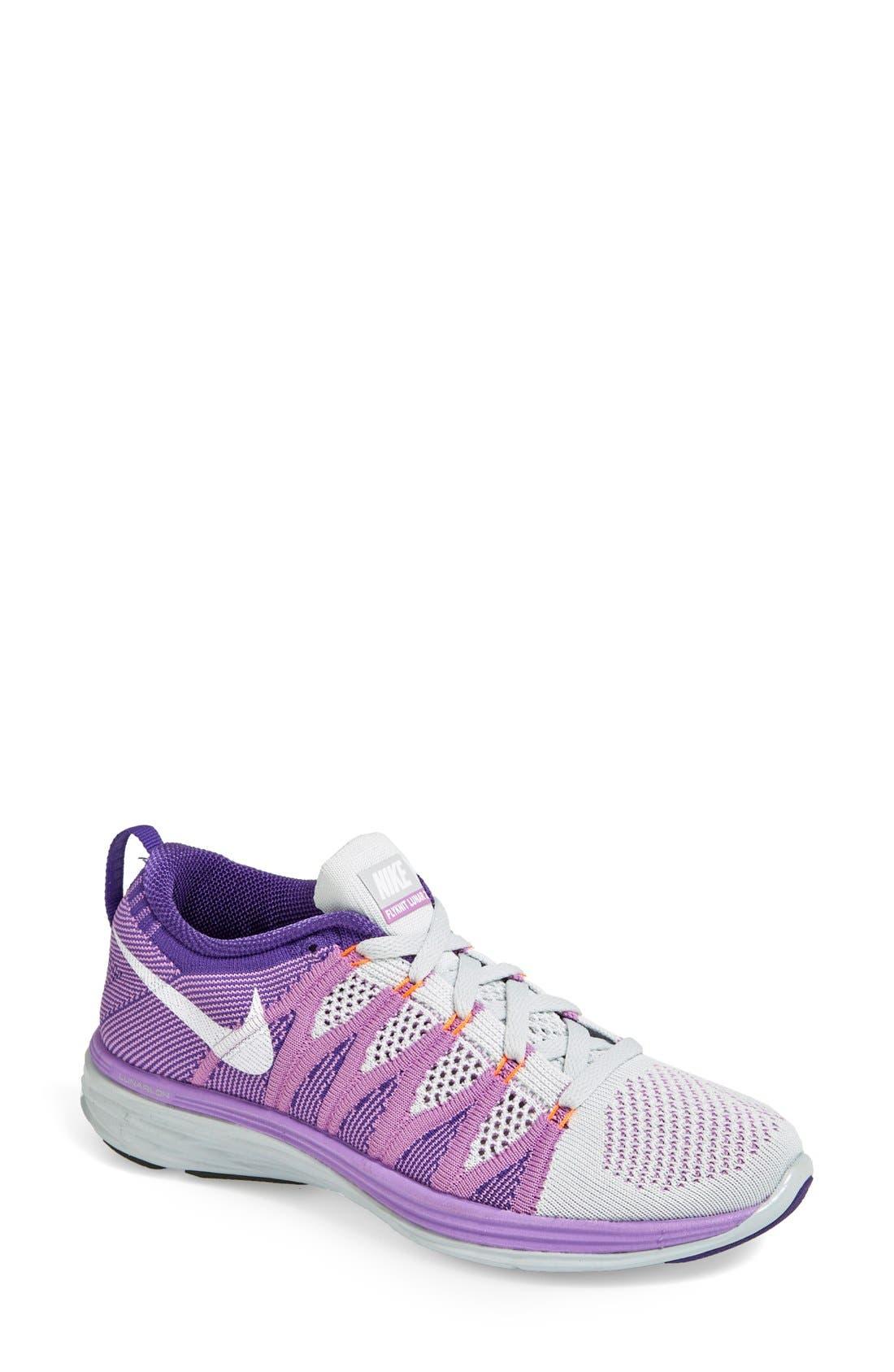 Alternate Image 1 Selected - Nike 'Flyknit Lunar2' Running Shoe (Women)