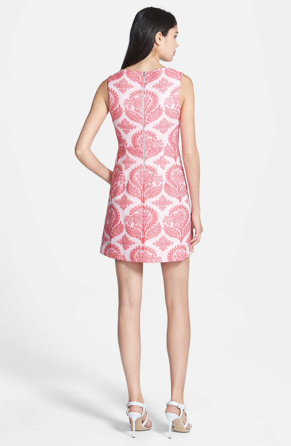 Alternate Image 2  - Diane von Furstenberg 'Capreena' Brocade Sheath Dress