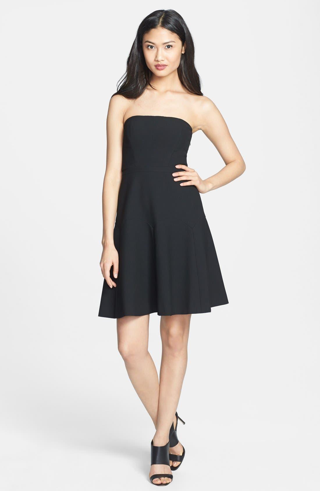 Main Image - Diane von Furstenberg 'Amira' Ponte A-Line Dress