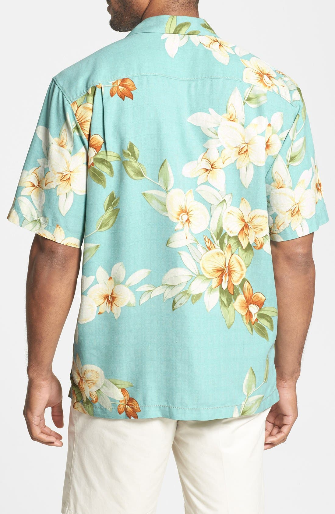 Alternate Image 2  - Tommy Bahama 'Treasure Beach Floral' Silk Campshirt