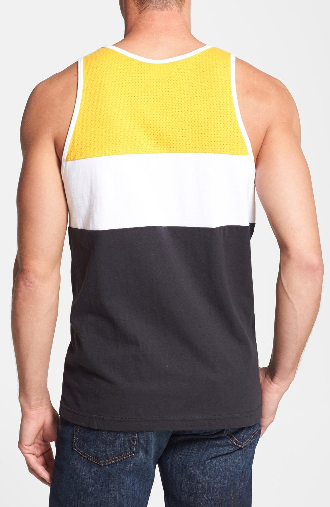 Alternate Image 2  - Mitchell & Ness 'Golden State Warriors - Home Stand' Tank Top