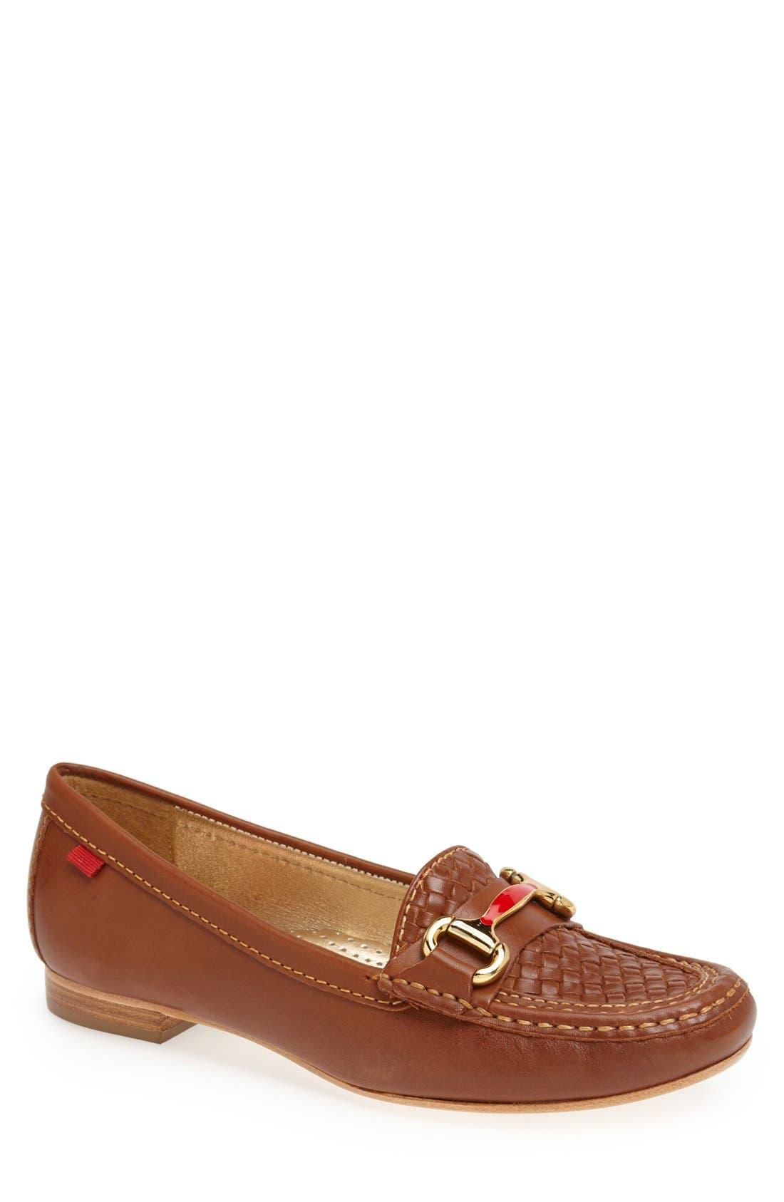 Alternate Image 1 Selected - Marc Joseph New York 'Grand St.' Calfskin Leather Loafer