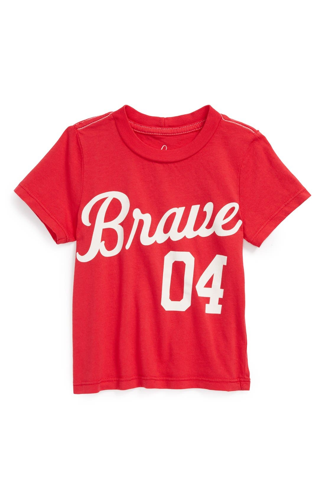 Alternate Image 1 Selected - Peek 'Brave' T-Shirt (Baby Boys)