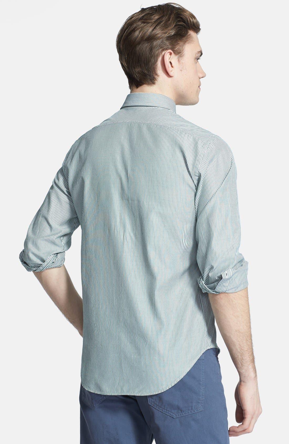 Alternate Image 3  - Billy Reid 'Tuscumbia' Stripe Shirt
