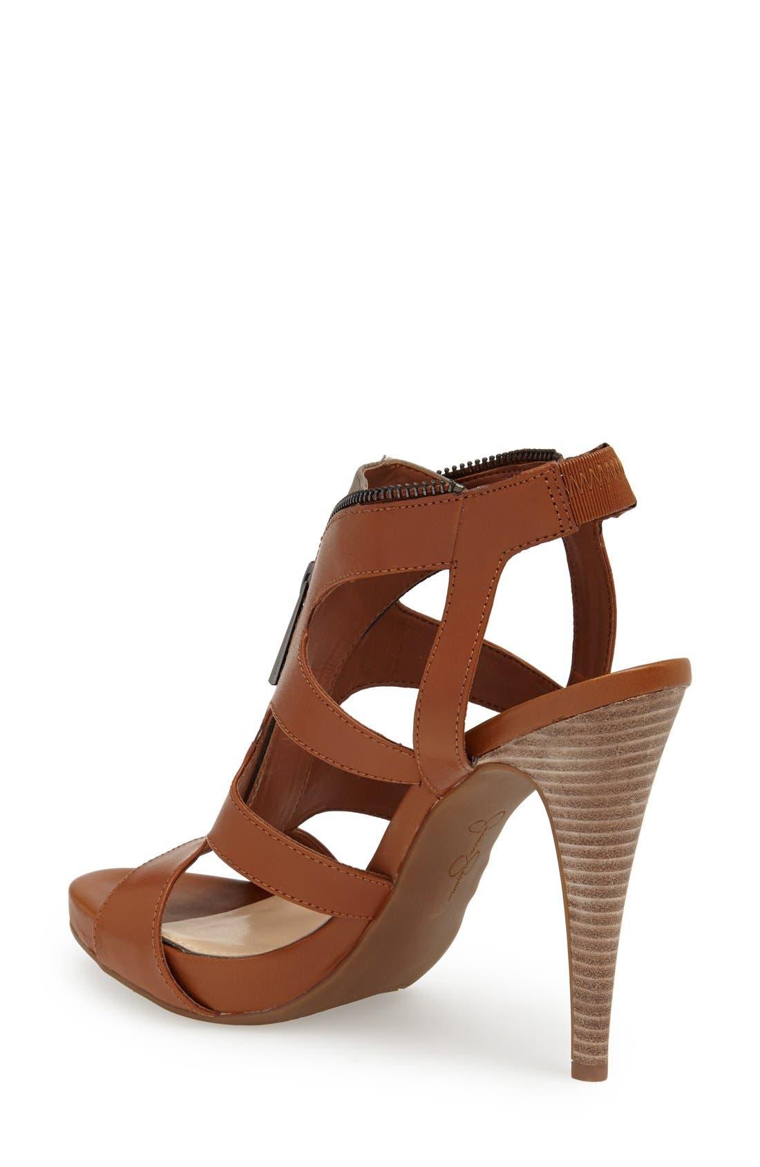 Alternate Image 2  - Jessica Simpson 'Carmyne' Leather Sandal (Women)