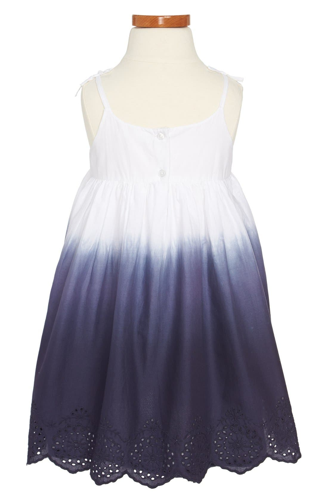 Alternate Image 2  - Tucker + Tate 'Maya' Sleeveless Dress (Toddler Girls, Little Girls & Big Girls)