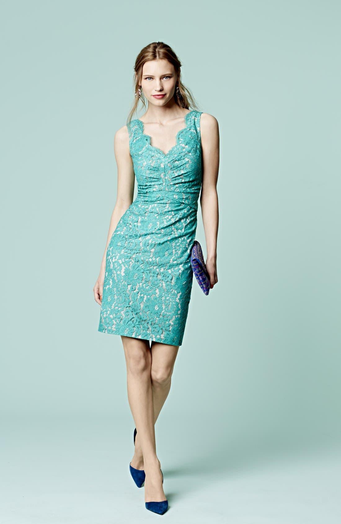 Alternate Image 5  - Eliza J Sleeveless Lace Dress