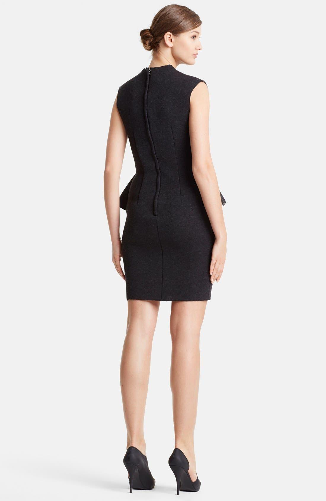 Alternate Image 2  - Lanvin Peplum Waist Neoprene Dress