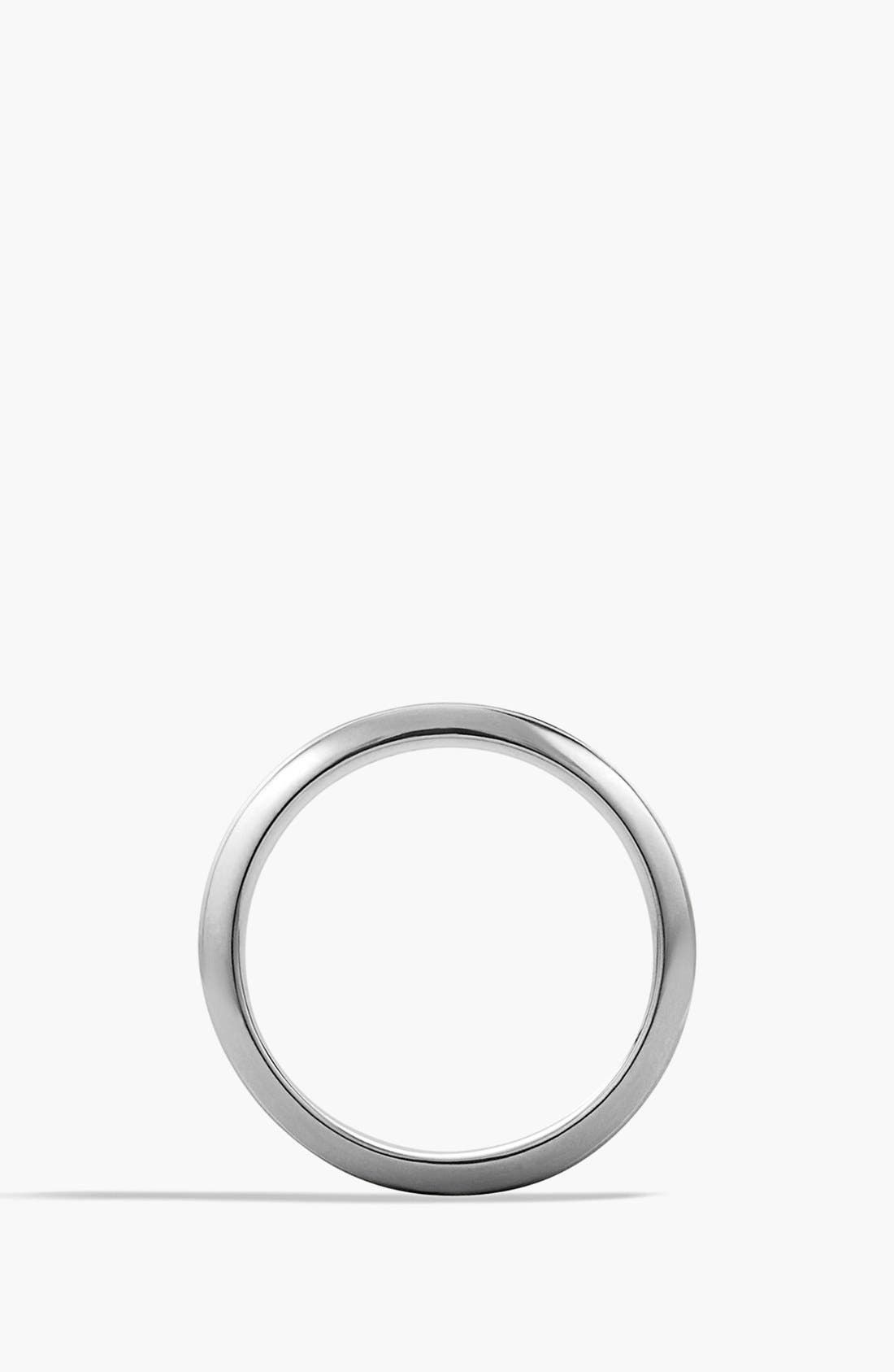 'Royal Cord' Knife-Edge Band Ring,                             Alternate thumbnail 2, color,                             Silver