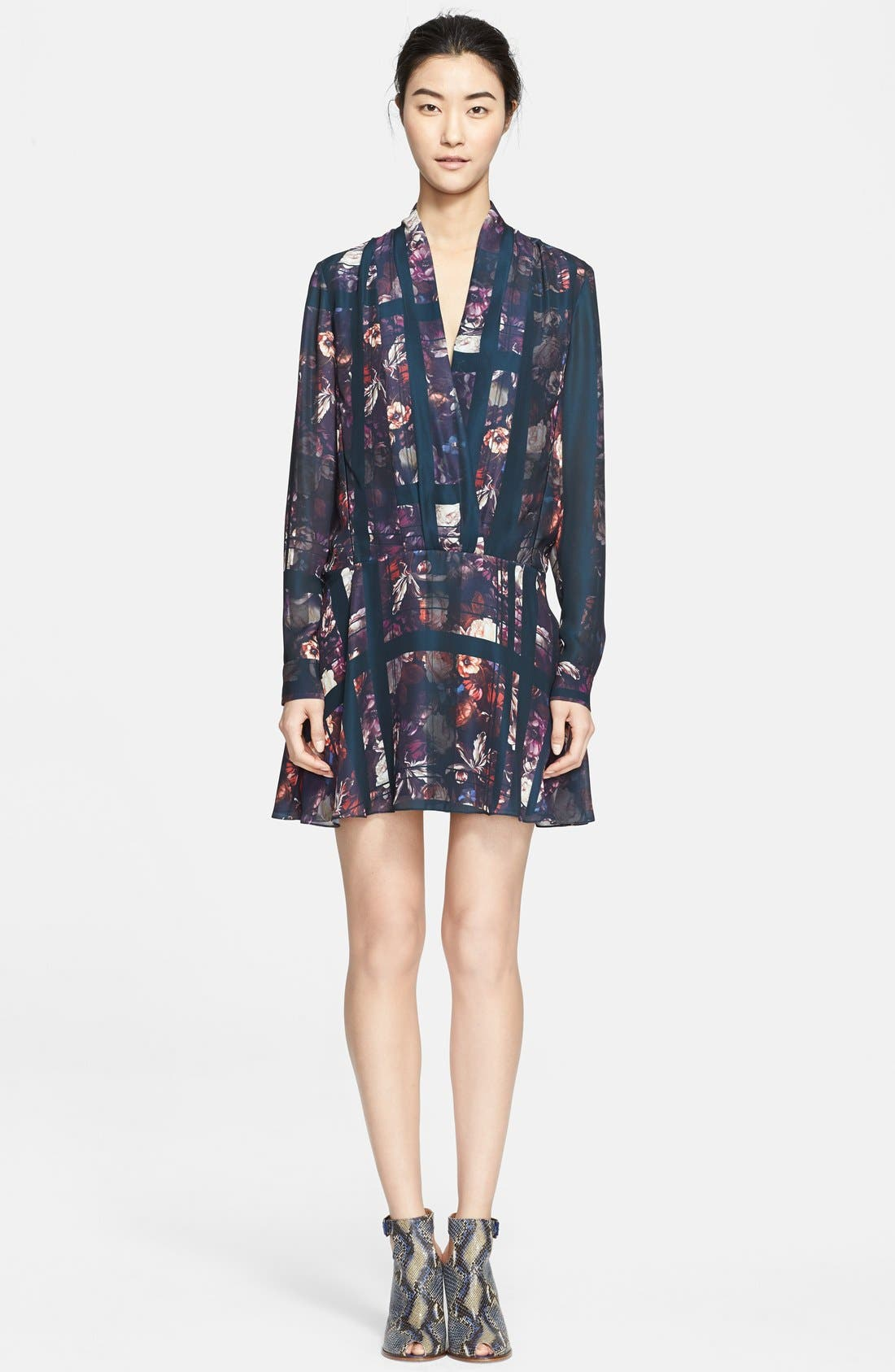 Main Image - Thakoon Addition Print Drop Waist Dress