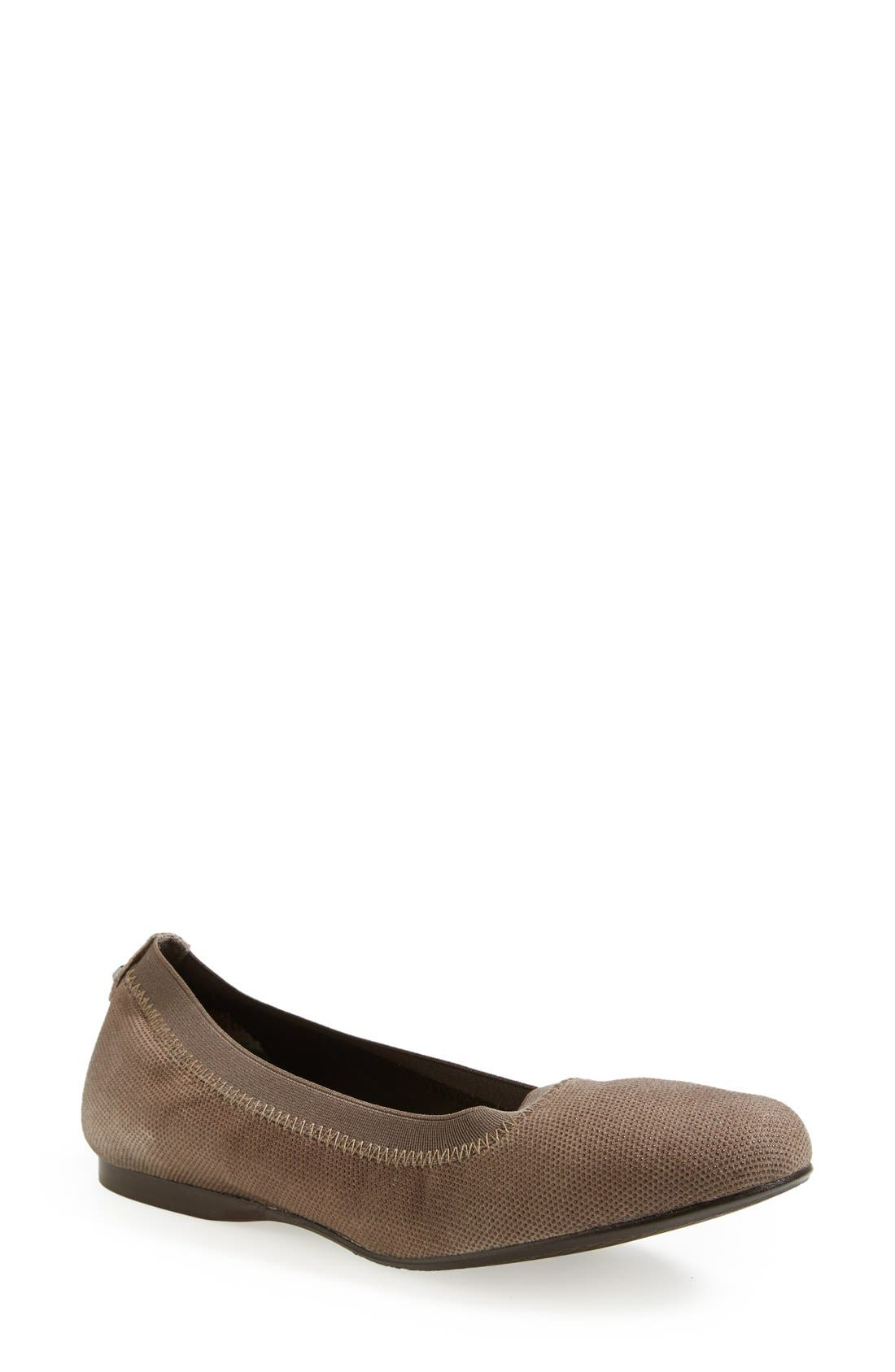 Alternate Image 1 Selected - Stuart Weitzman 'Slipin' Flat (Nordstrom Exclusive) (Women)