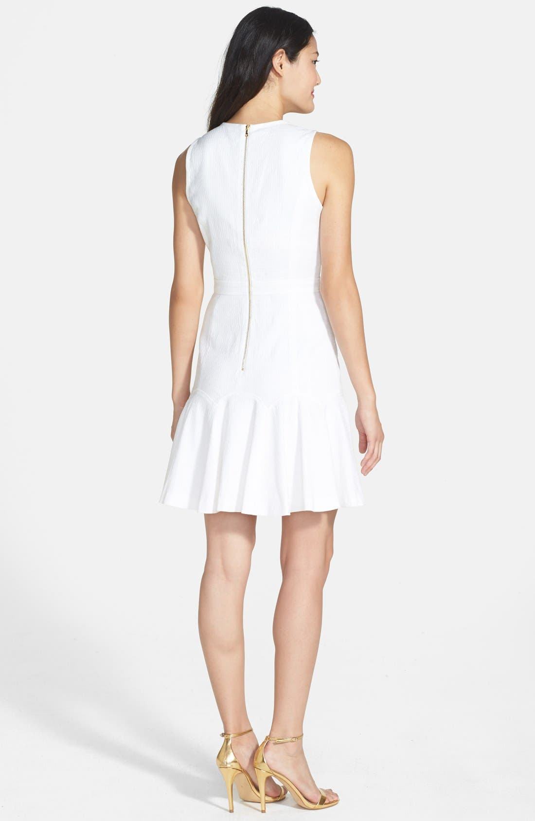 Alternate Image 2  - Ali Ro Flounce Hem Knit Dress