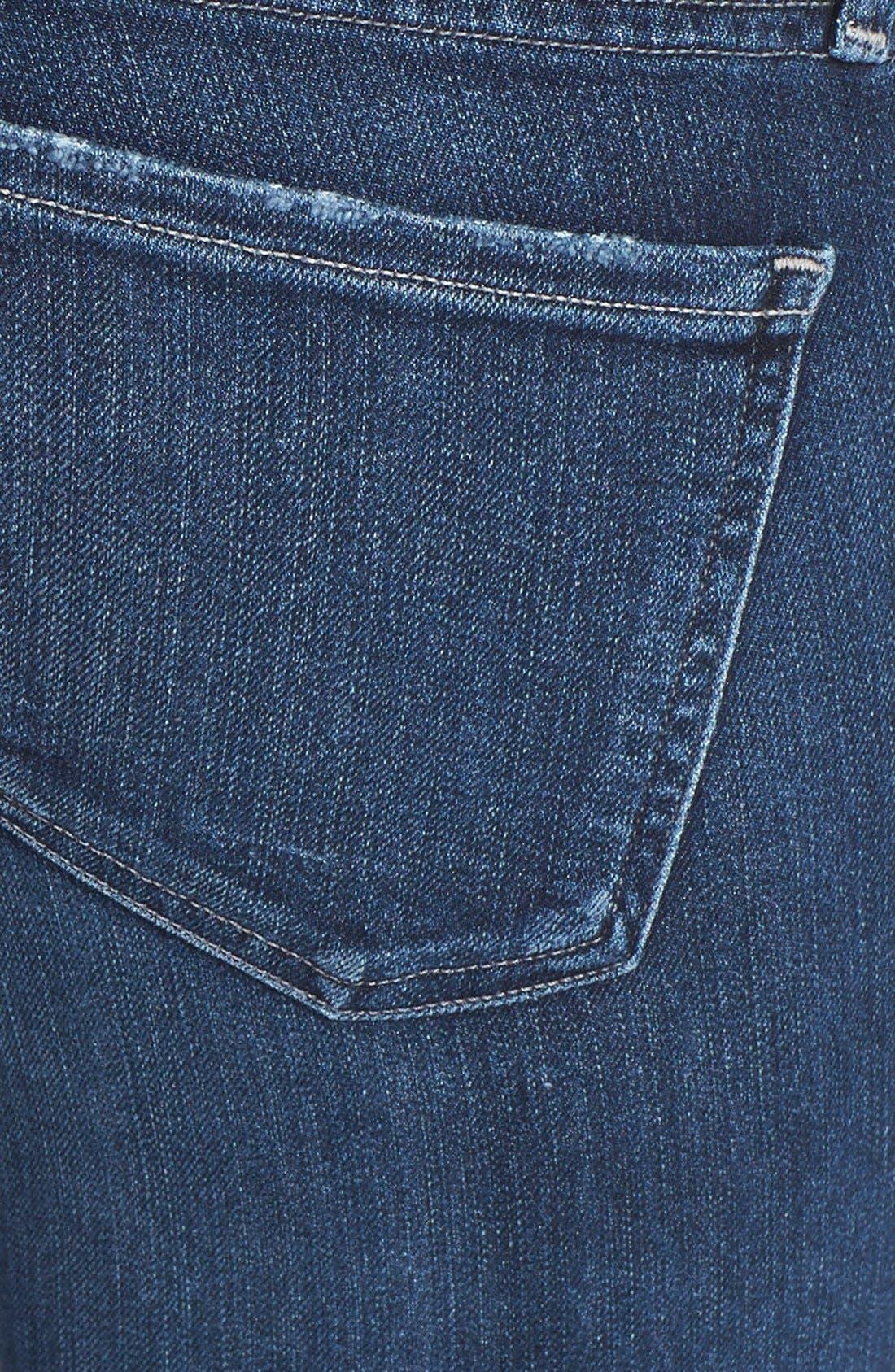 Arielle Slim Jeans,                             Alternate thumbnail 3, color,                             Hewett