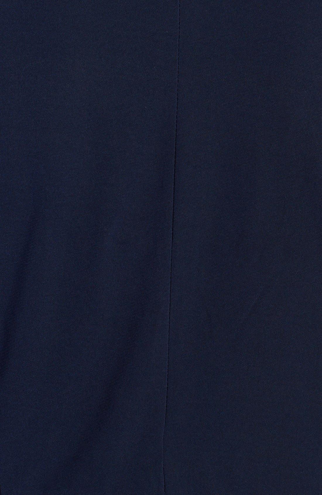 Alternate Image 3  - Jessica Howard Embellished Waist Artichoke Pleat Gown & Jacket (Plus Size)