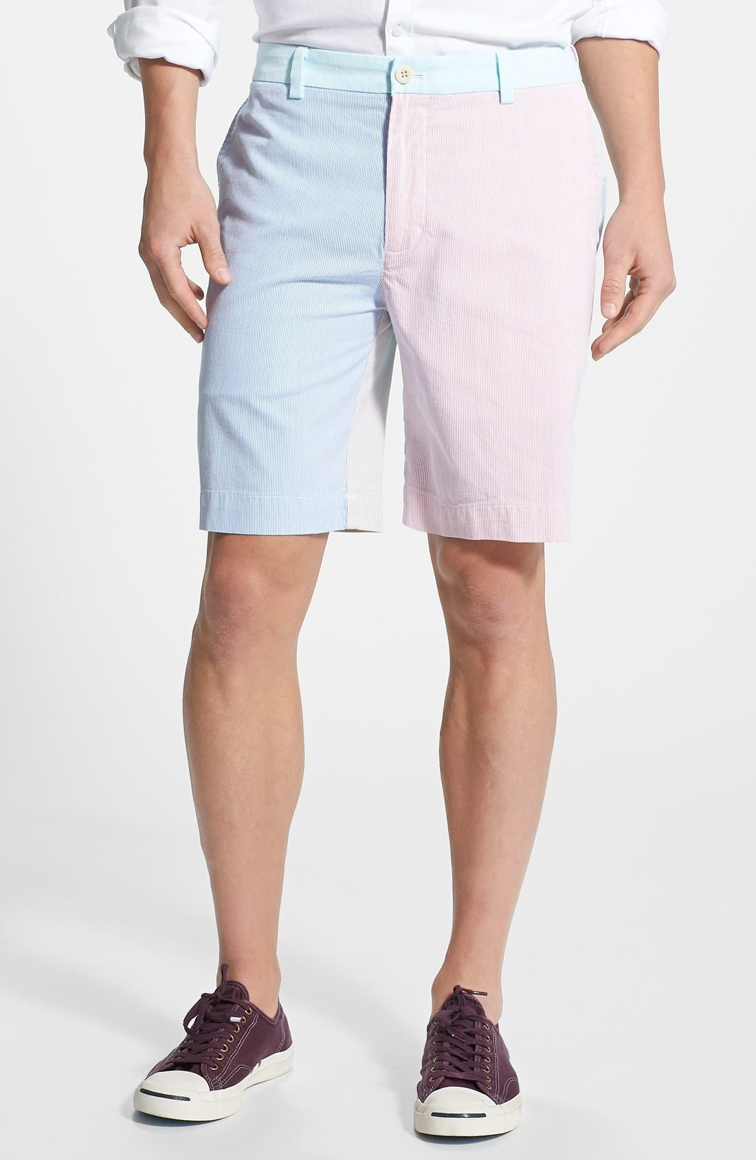 Alternate Image 1 Selected - Vineyard Vines 'Pincord Party' Classic Fit Shorts