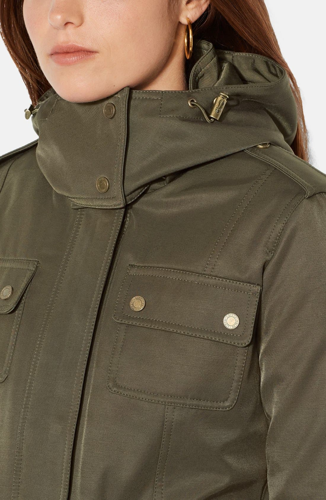Alternate Image 4  - Lauren Ralph Lauren Two-in-One Anorak with Removable Quilted Vest