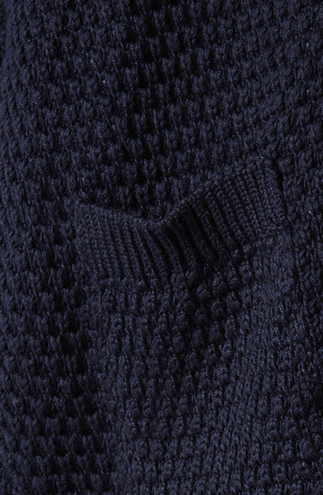 Alternate Image 4  - Topshop Tulip Stitch Cardigan