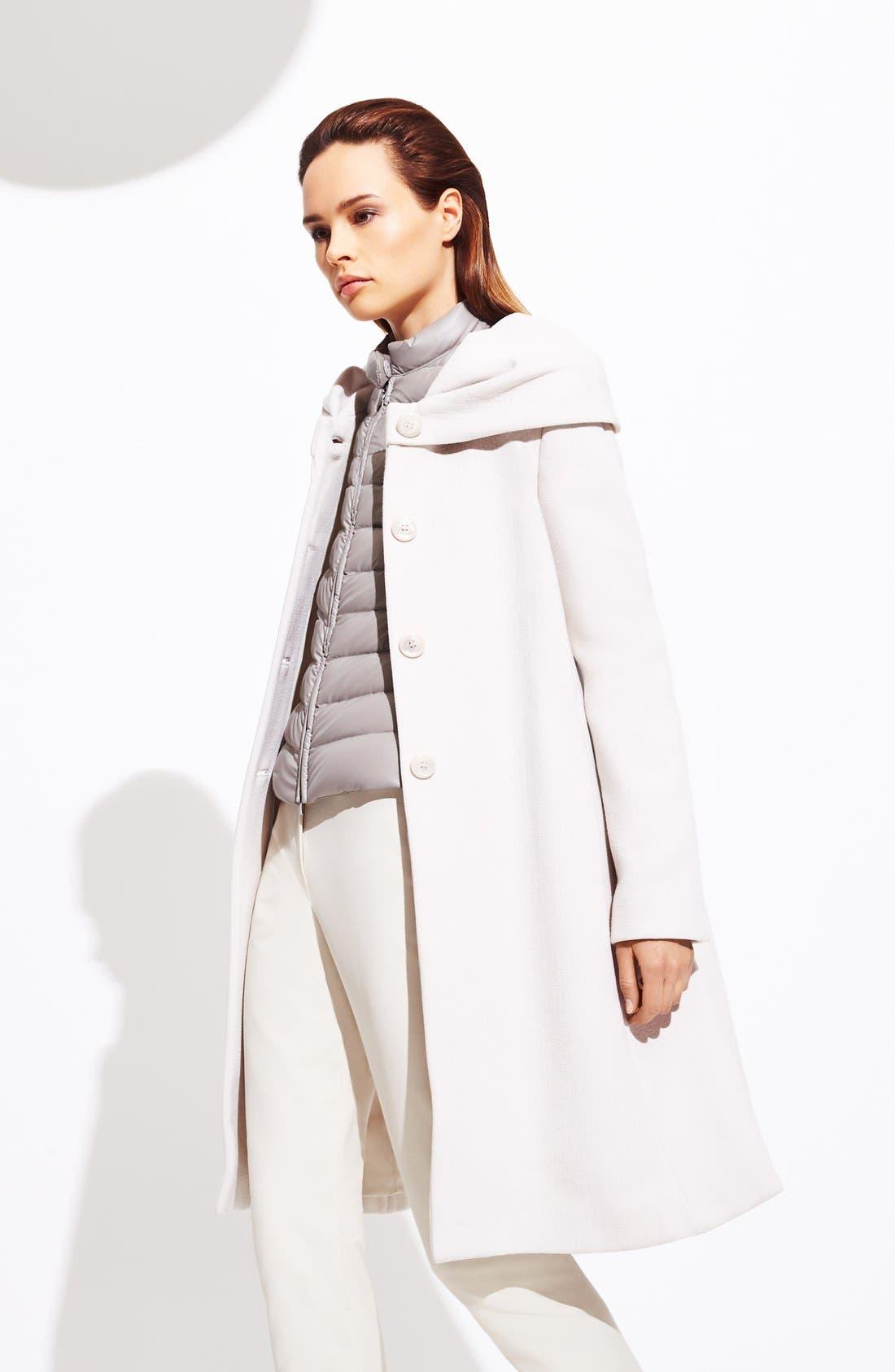 Alternate Image 4  - Armani Collezioni Quilted Down Puffer Coat